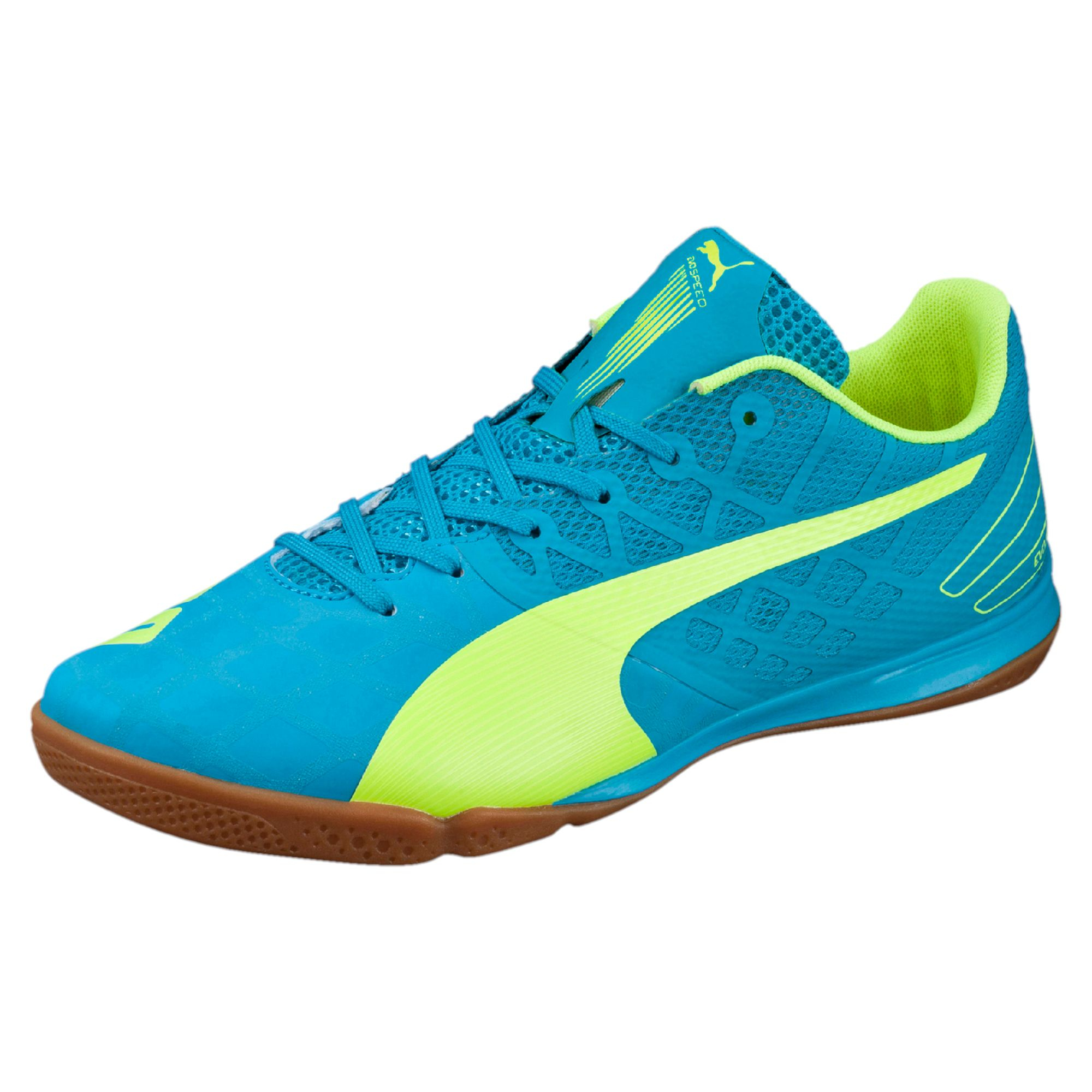 db987e76774 Lyst - PUMA Evospeed Sala 3.4 Men s Indoor Soccer Shoes in Blue for Men