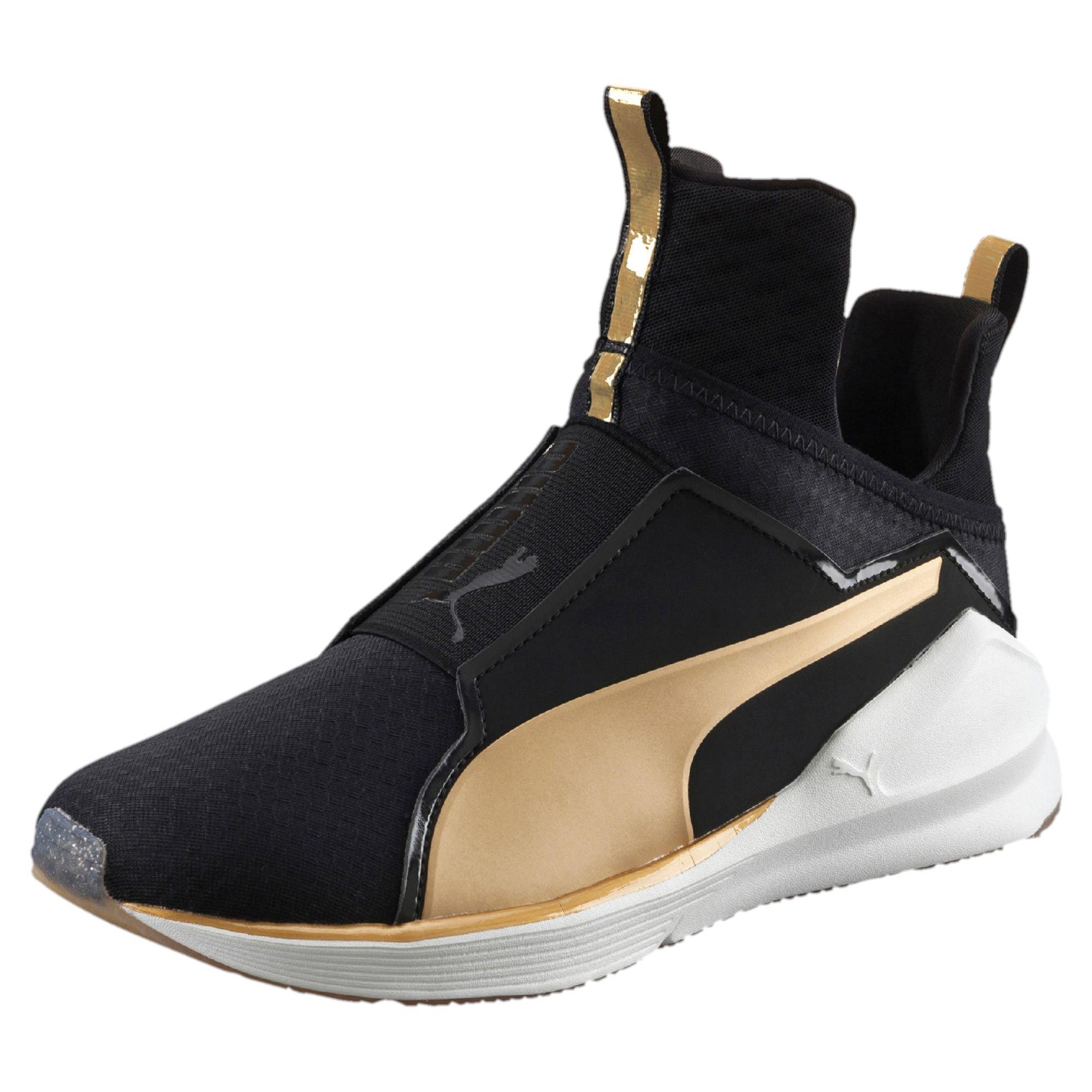 Fierce Gold Women S Training Shoes Puma