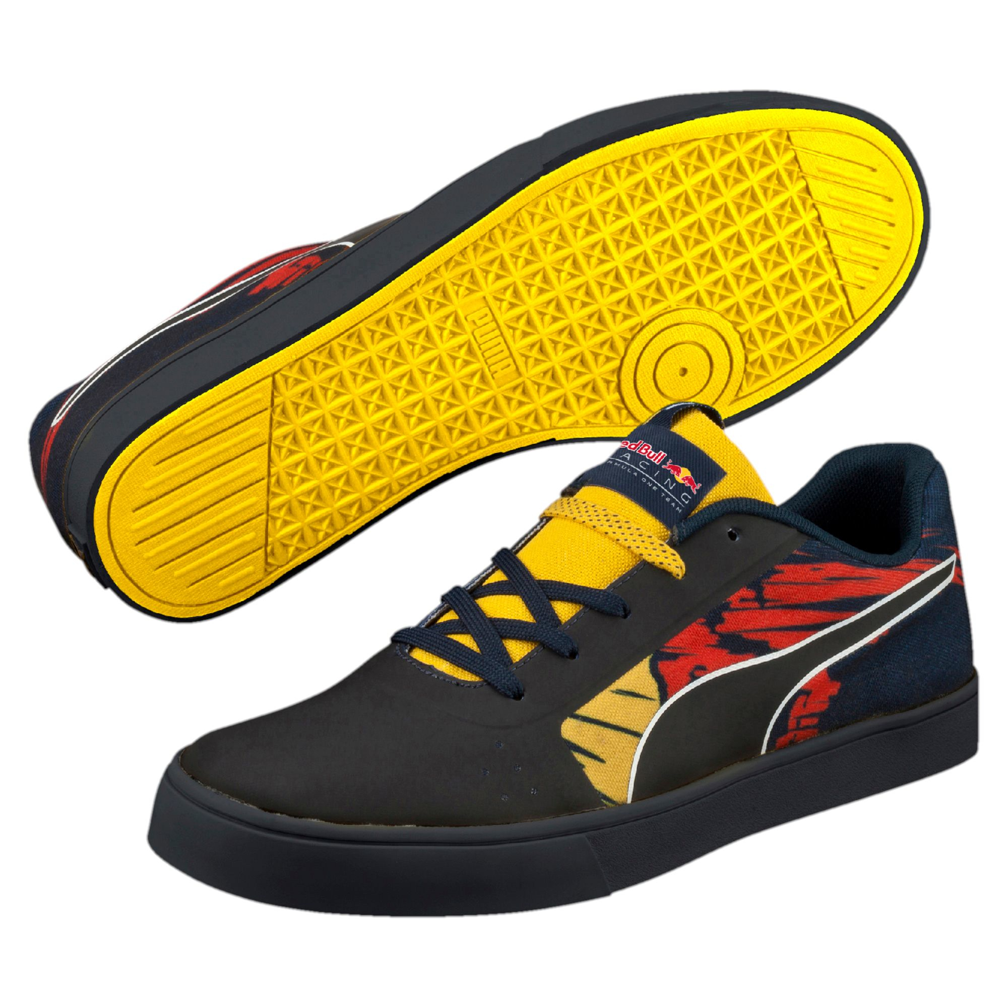 lyst puma red bull racing wings vulc xtrem men 39 s shoes in yellow for men. Black Bedroom Furniture Sets. Home Design Ideas