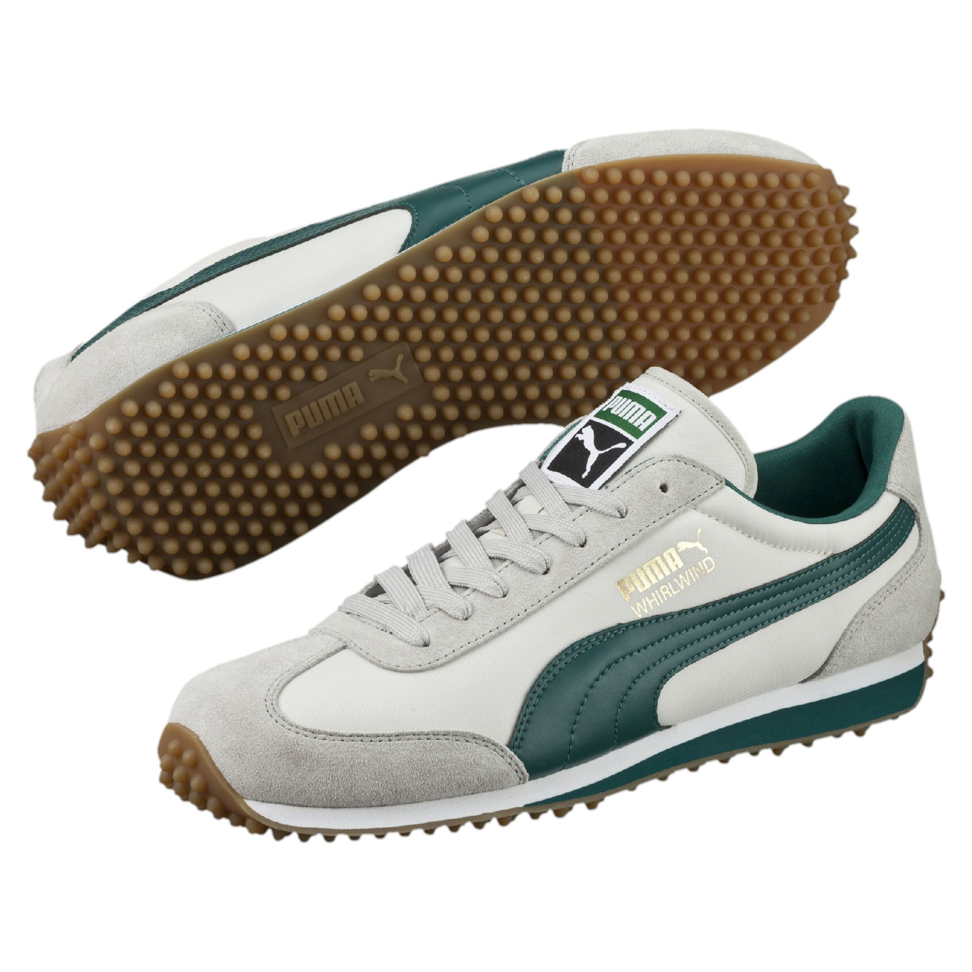 Lyst - PUMA Whirlwind Classic Men s Sneakers in Green for Men c1abfaf47
