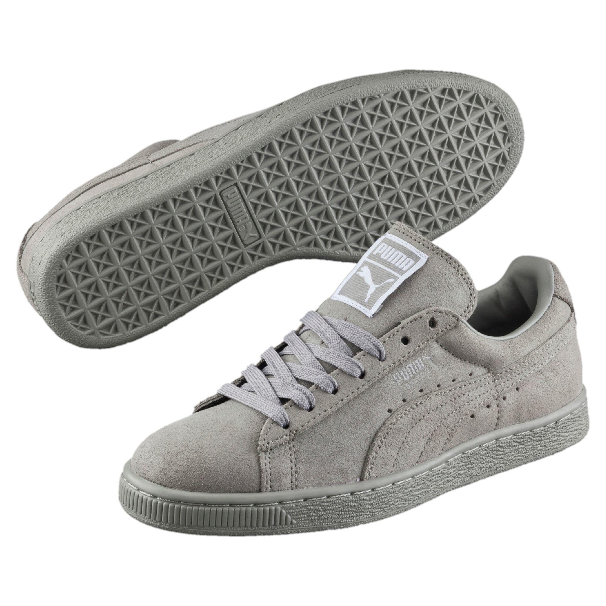 puma suede classic grey