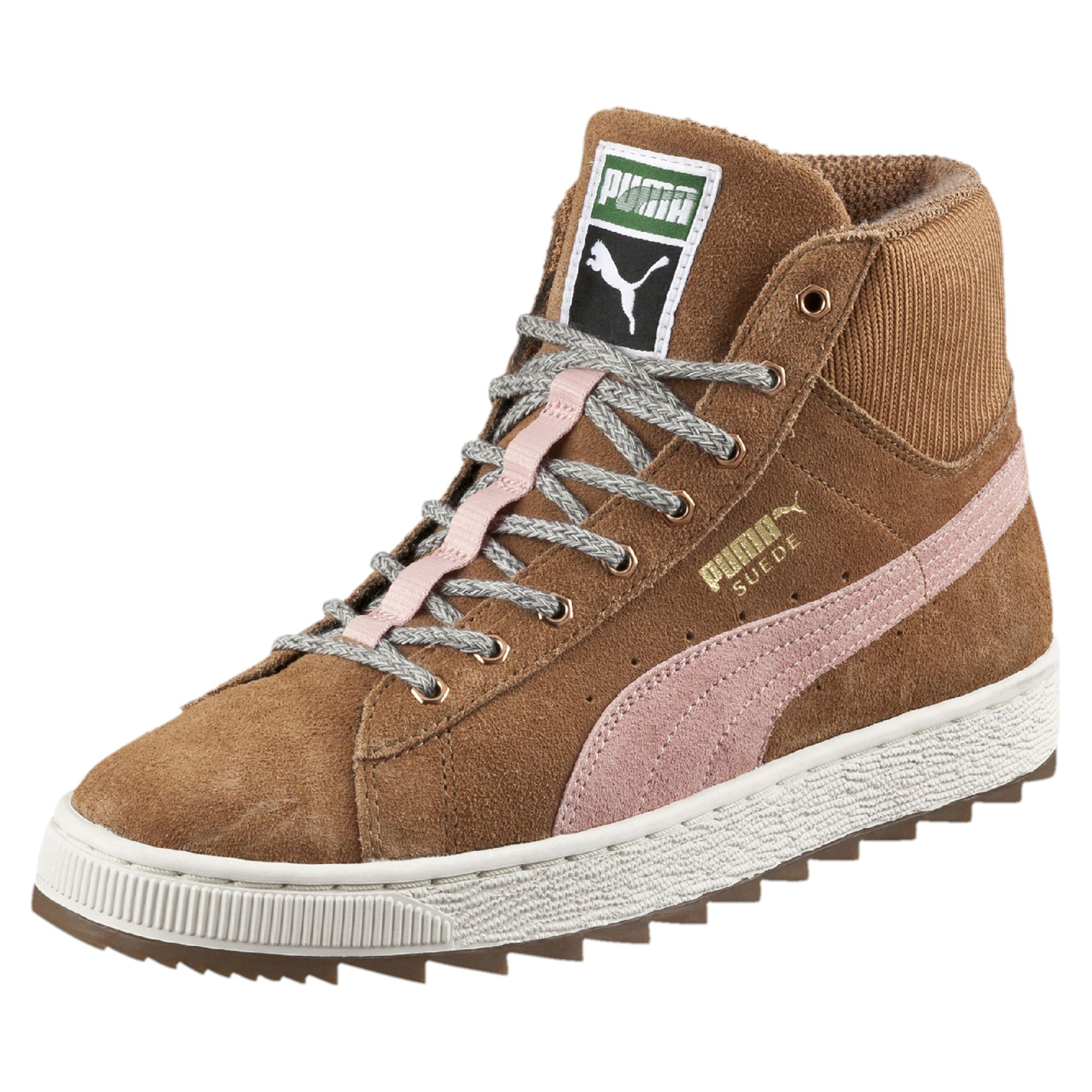 5235243376e220 Lyst - PUMA Suede Winterized Rugged Mid Women s Sneakers in Brown