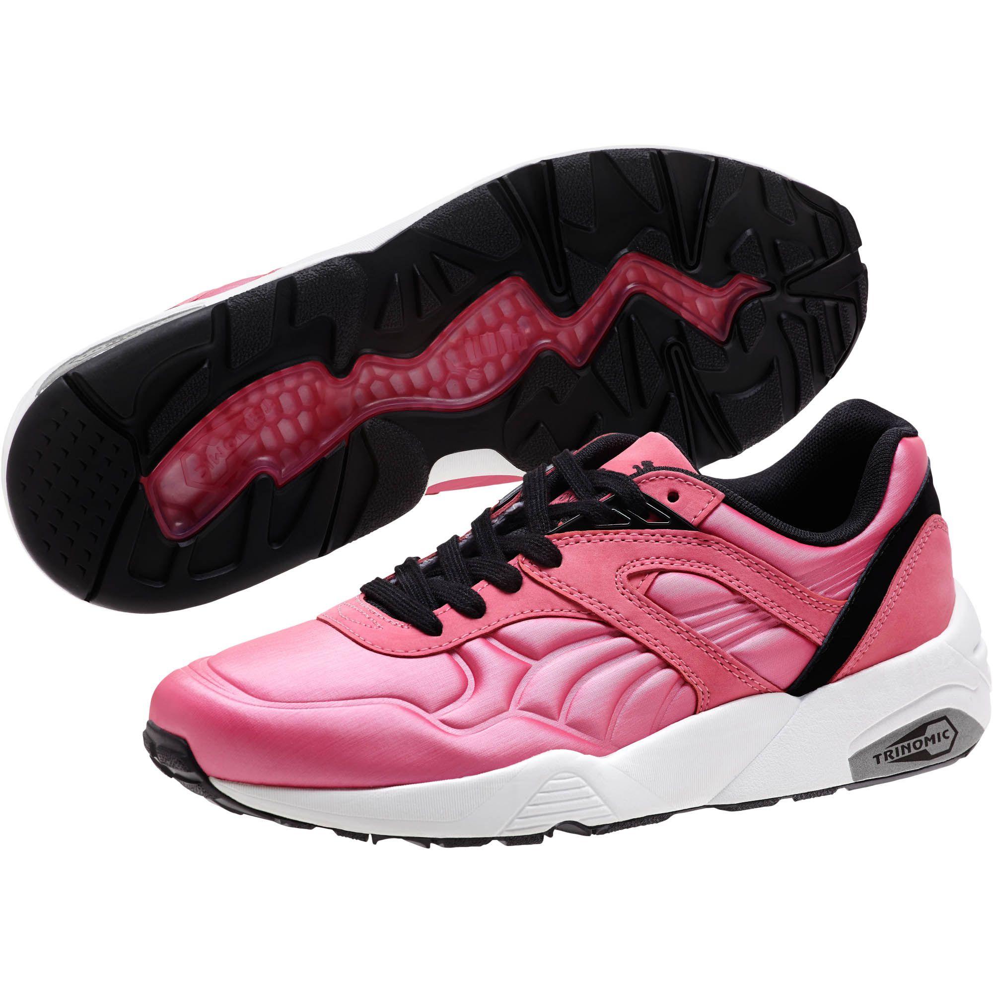 5e5adef88488 Lyst - PUMA R698 Matte   Shine Women s Sneakers in Black