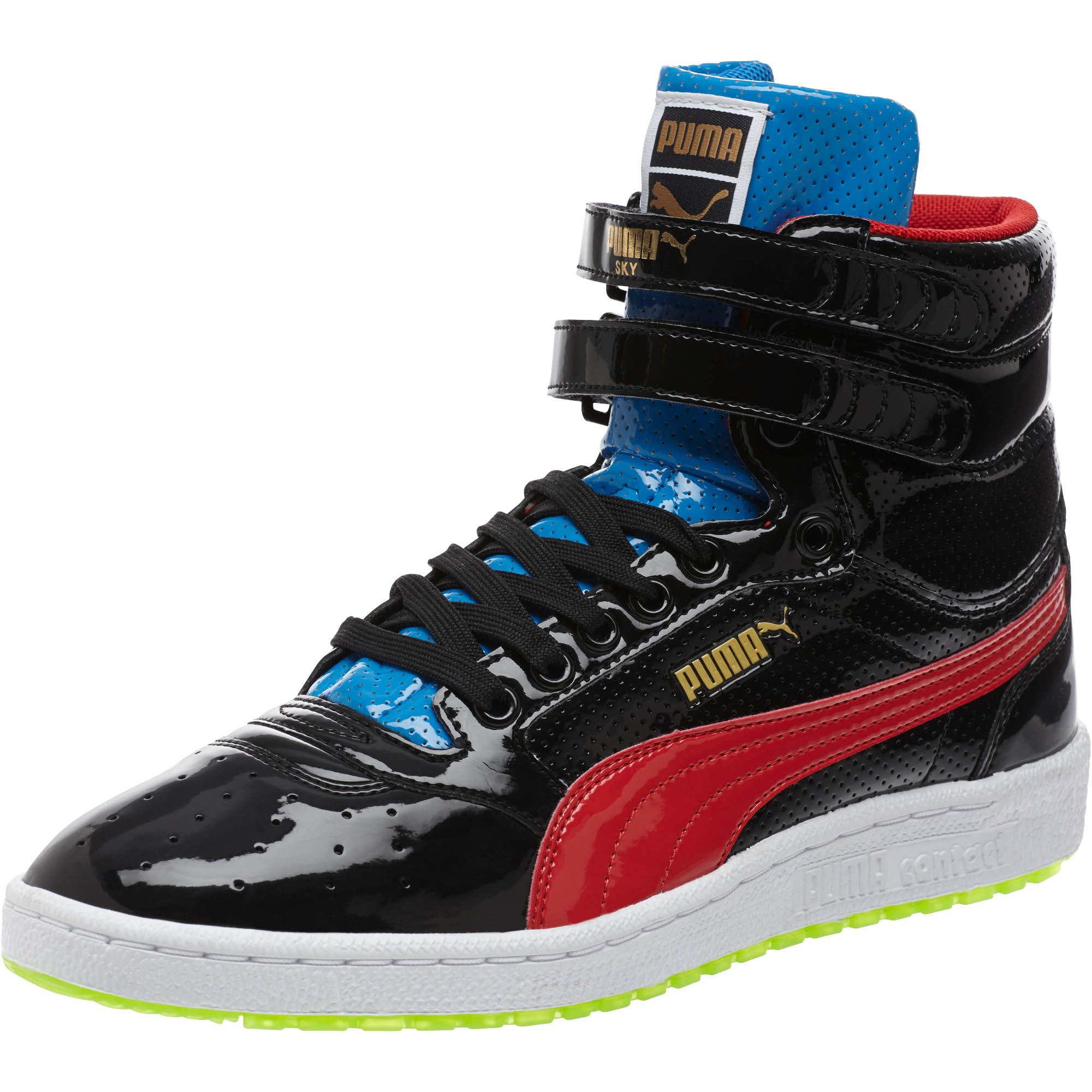 b864233b7820 PUMA Sky Ii Hi Patent Ice Men's Sneakers in Black for Men - Lyst