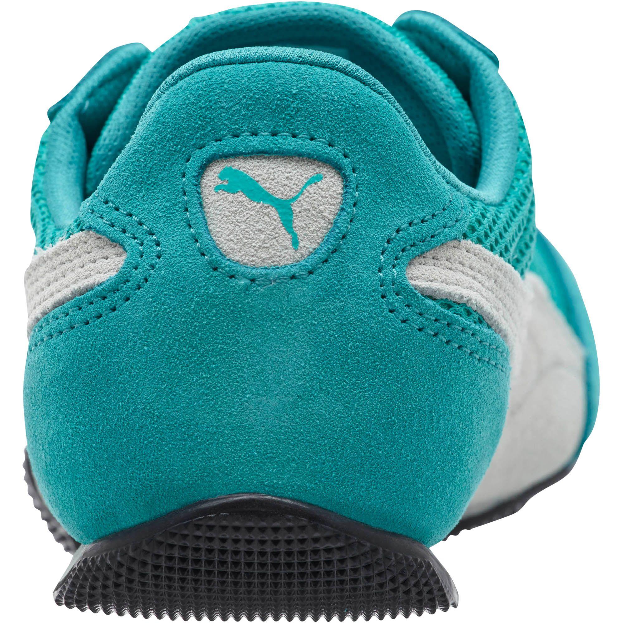 d30cc85d506 Lyst - PUMA 76 Runner Mesh Women s Sneakers in Blue