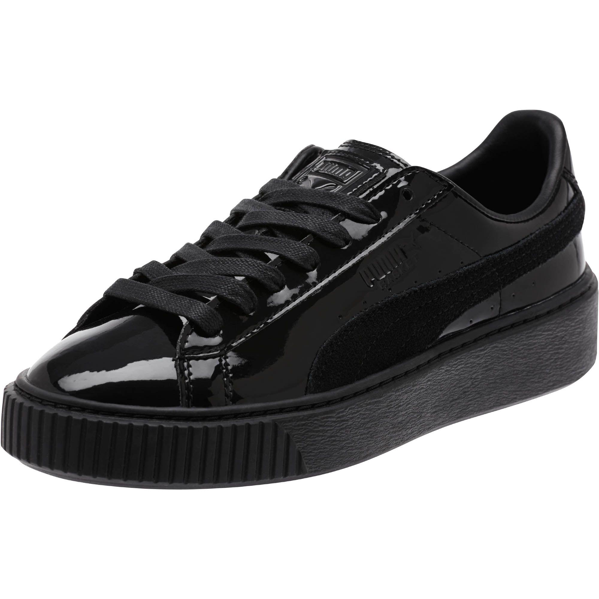 Puma Basket Platform All Black