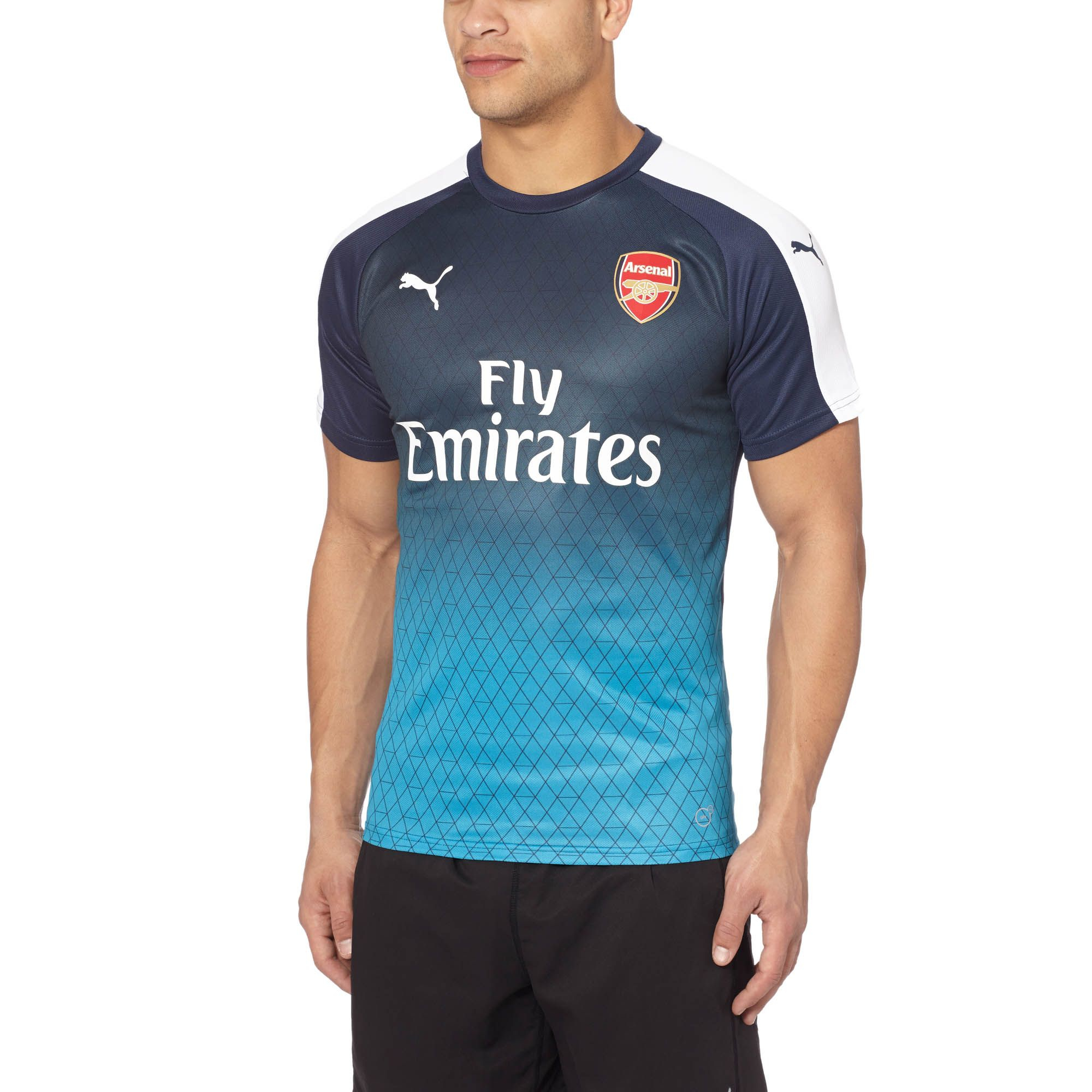 Lyst - PUMA Arsenal Stadium T-shirt in Blue for Men 31c963827