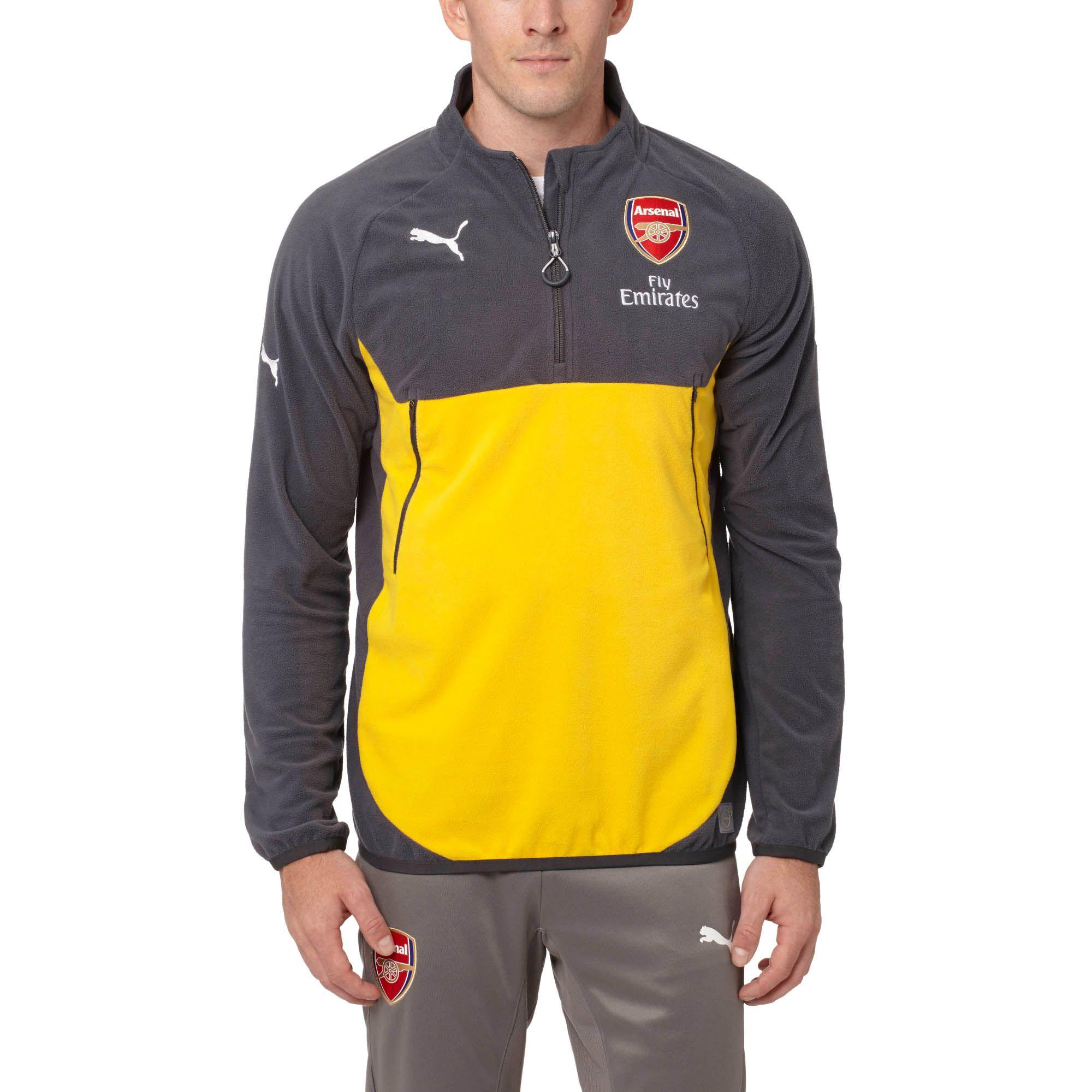 ... Lyst - Puma Arsenal Training Fleece in Blue for Men new york a36ed  e4bbd  Puma Arsenal 2016-2017 Away Jersey Spectra ... 927f3e78d