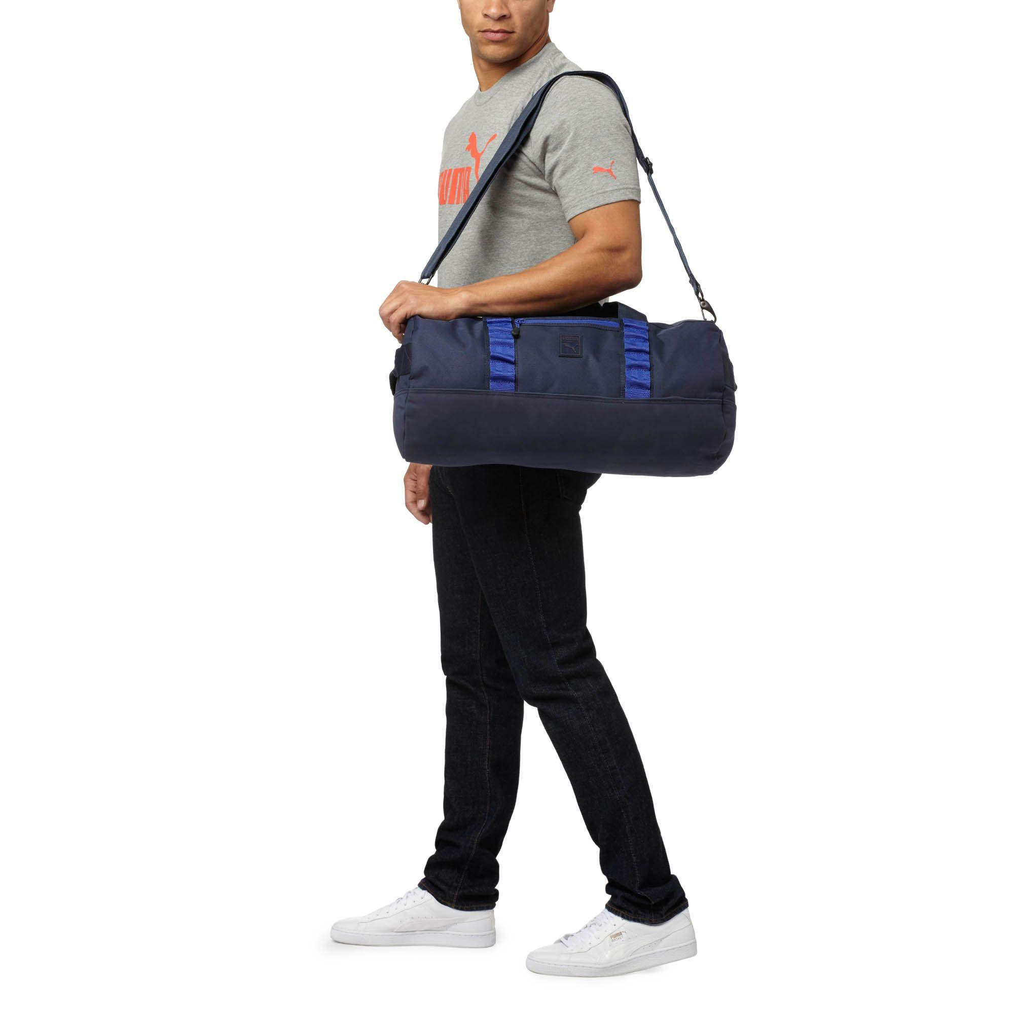 219093df20 Lyst - PUMA Tactile Outlier Duffel Bag in Blue for Men