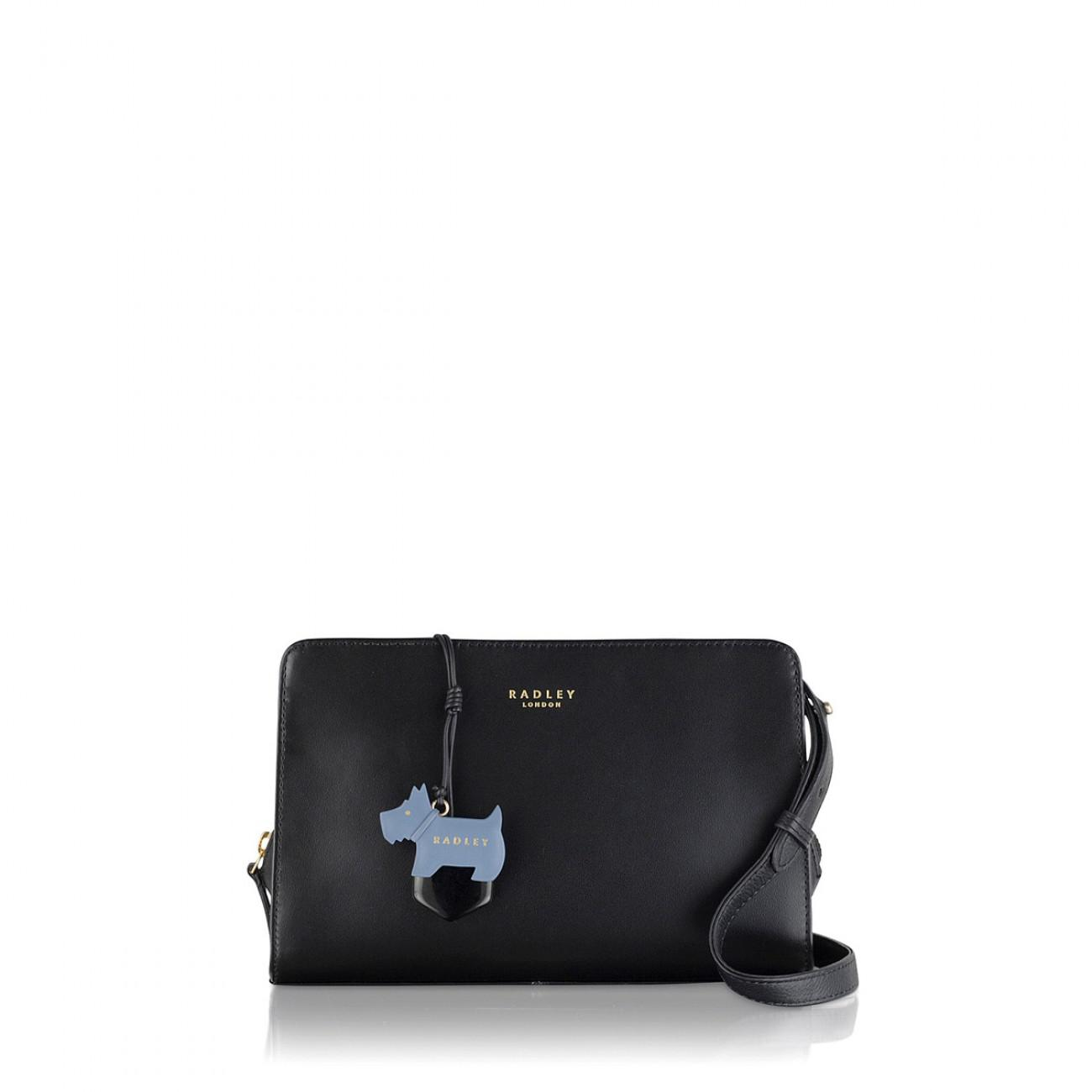 Radley - Black Women s Liverpool Street Medium Ziptop Cross Body Bag -  Lyst. View fullscreen 91b42d832fd29