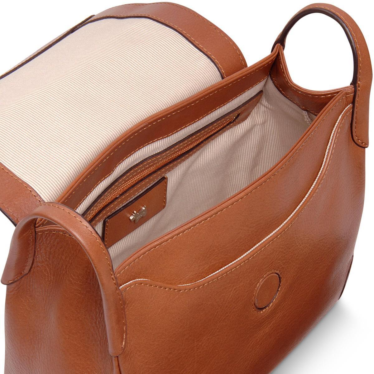 Radley Lambeth Mews Medium Flapover Cross Body Bag in Brown - Lyst b6fc9f8d55
