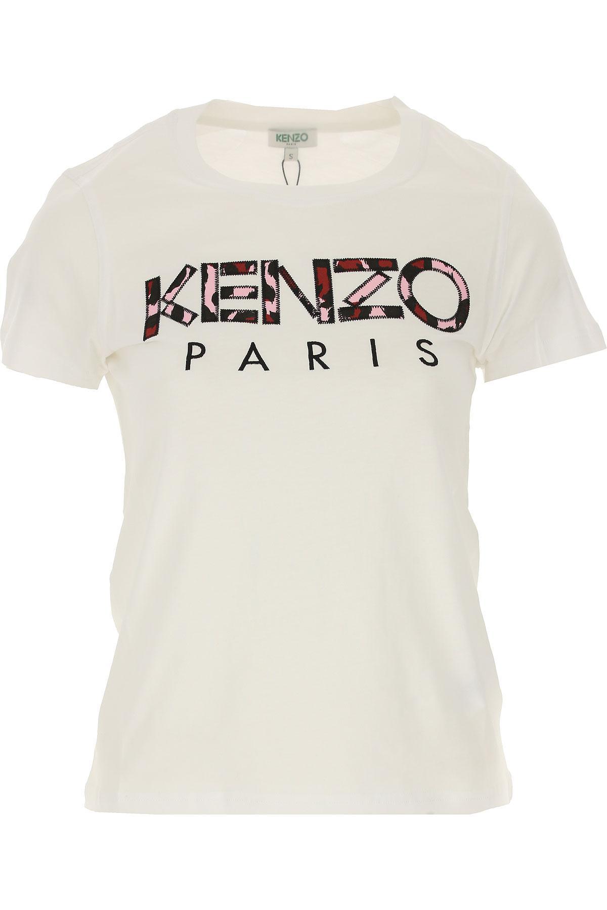 Lyst - Pull Femme Pas cher en Soldes Kenzo en coloris Blanc ... 31b3b0d637a