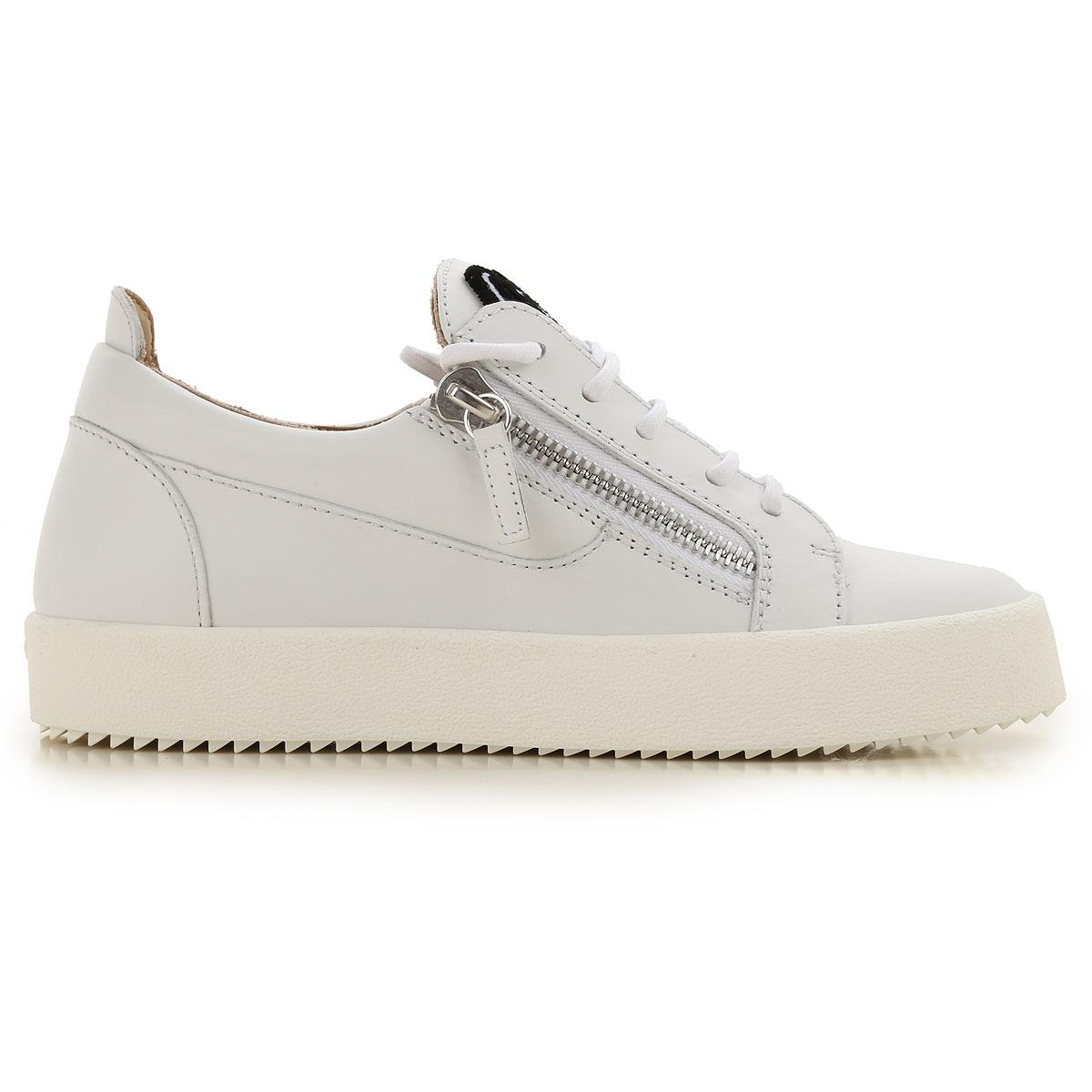 f382f9c6c497e Giuseppe Zanotti - White Sneakers For Women On Sale - Lyst. View fullscreen