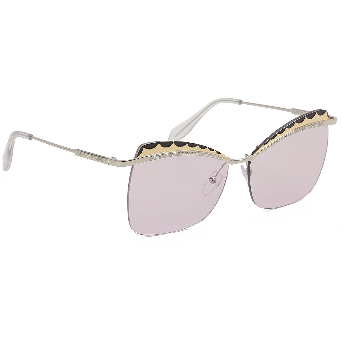 1ae56c9f6e354 Lyst - Gafas y Lentes de Sol Baratos en Rebajas Alexander McQueen de ...
