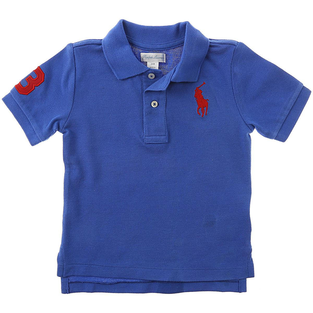 Lyst Ralph Lauren Baby Polo Shirt For Boys On Sale In Blue For Men