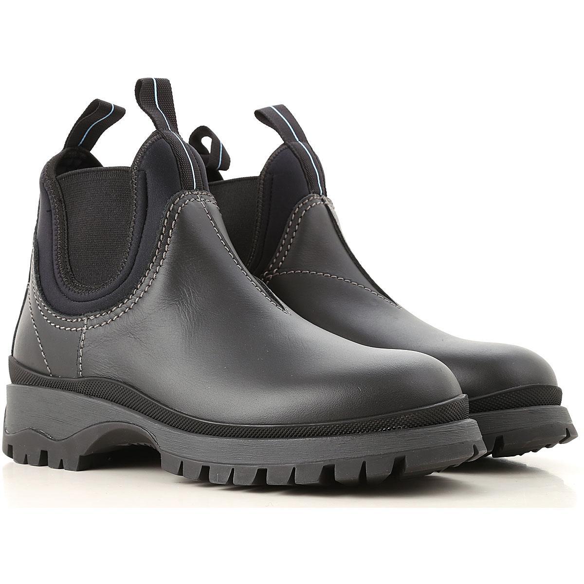 Lyst - Prada Shoes For Women in Black - Save 25% ae308b907