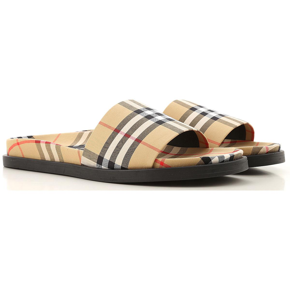 24604277a Lyst - Burberry Sandals For Men in Natural for Men