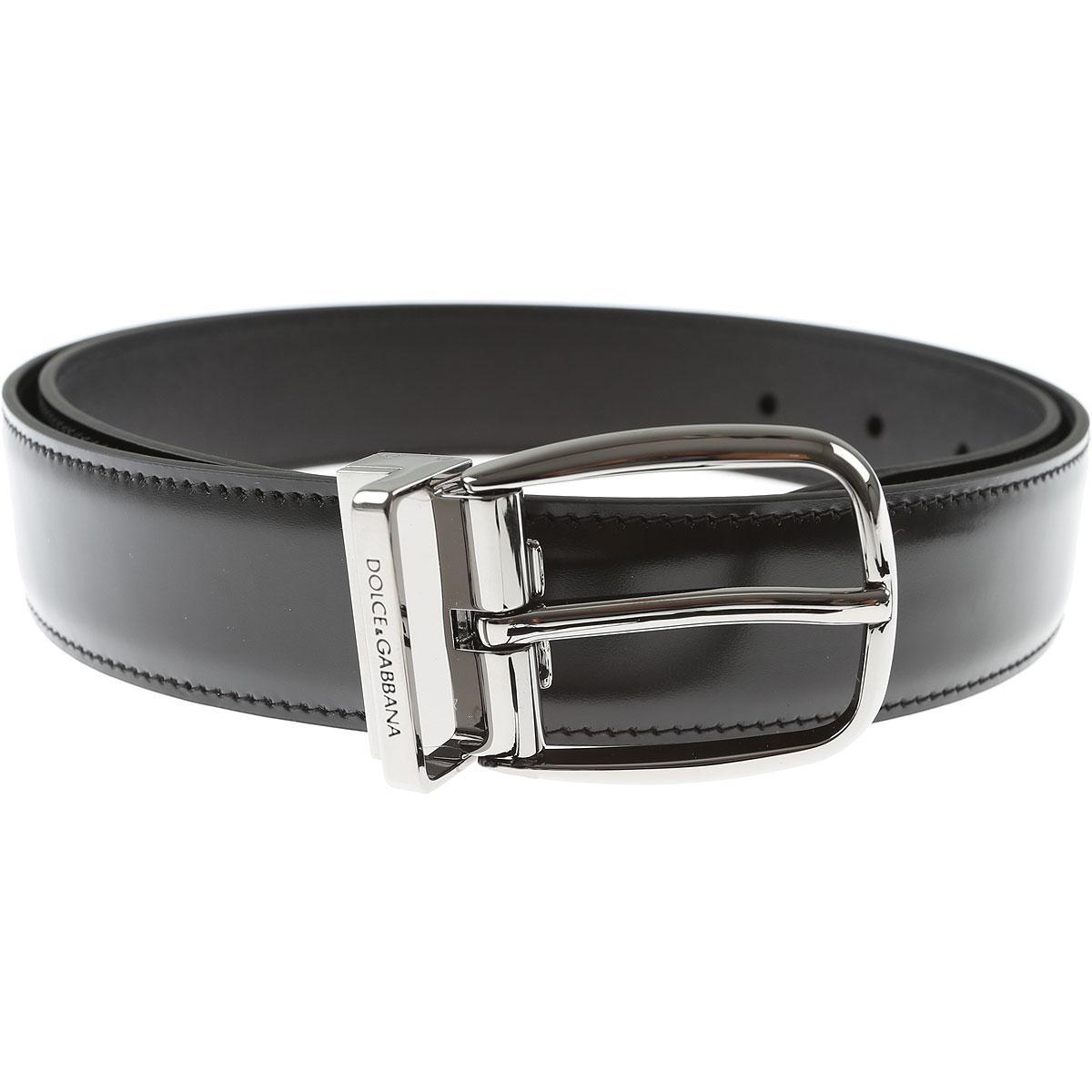 01198555c Dolce & Gabbana - Black Cinturones para Hombres for Men - Lyst. Ver en  pantalla completa