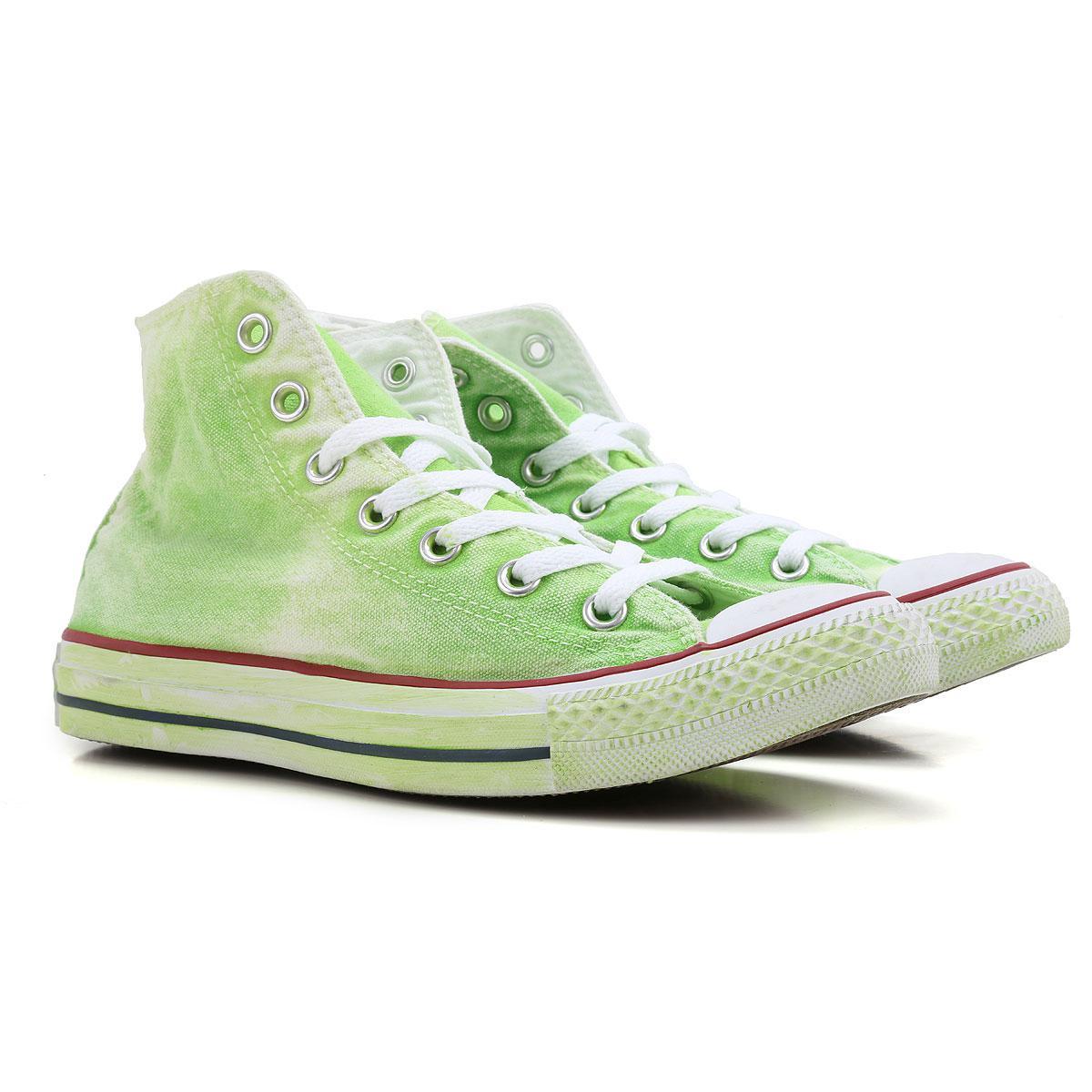 best service 84b17 69ba2 Converse Sneakers For Women On Sale in Green - Lyst