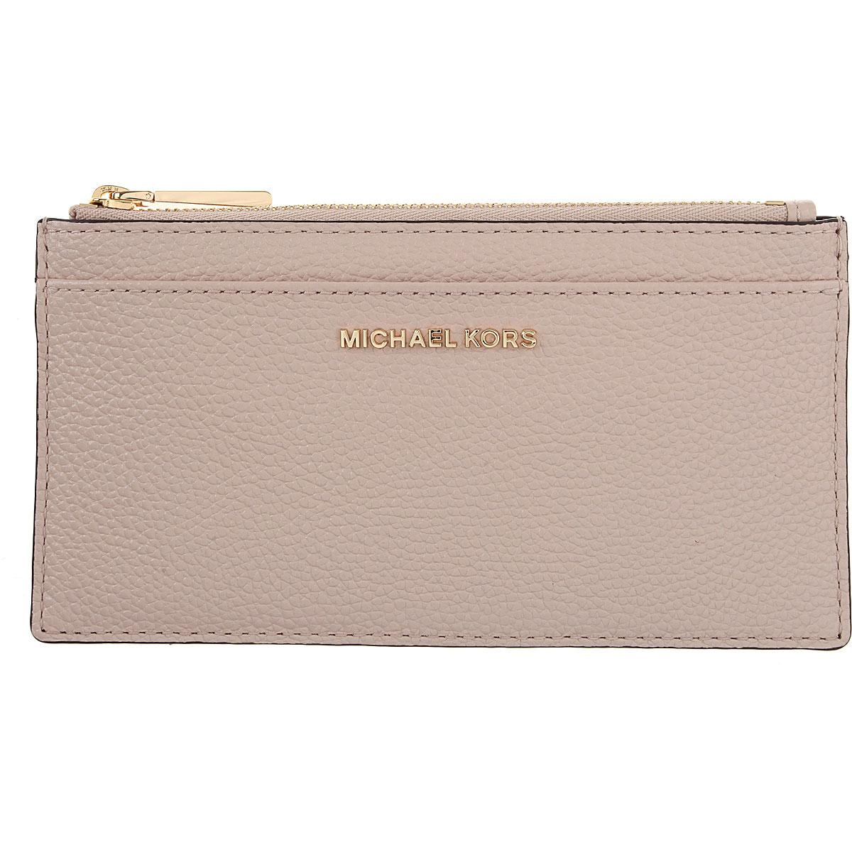 b8f4a7275739 Michael Kors - Pink Wallet For Women On Sale - Lyst. View fullscreen