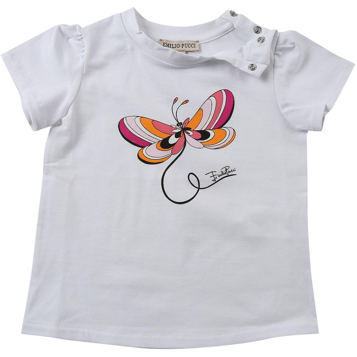 3757e8831774 Lyst - Emilio Pucci Baby T-shirt For Girls On Sale in White for Men