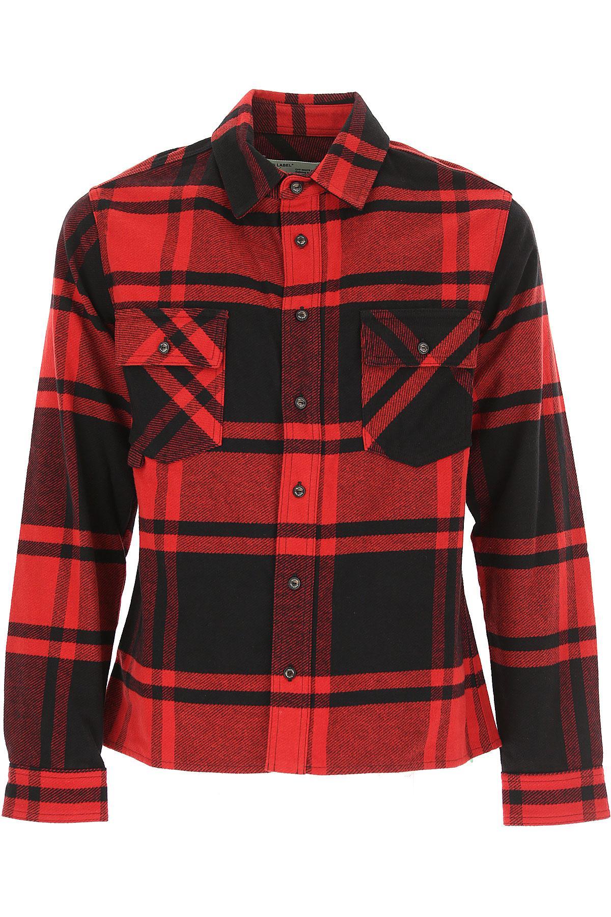 808e68cfcd4d Lyst - Off-White C O Virgil Abloh Shirt For Men in Red for Men