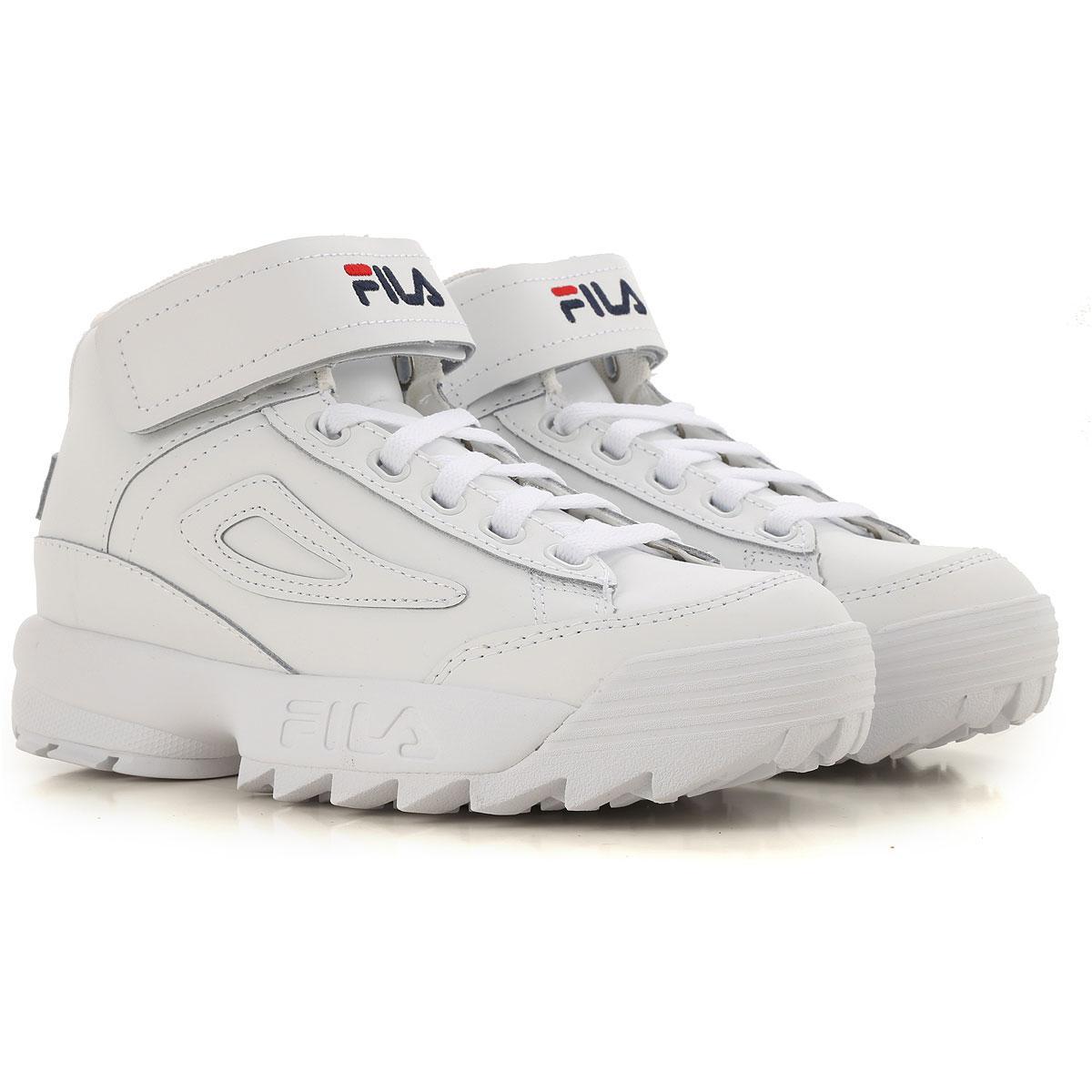 Lyst - Zapatillas Deportivas de Mujer Fila de color Blanco 41be9348039