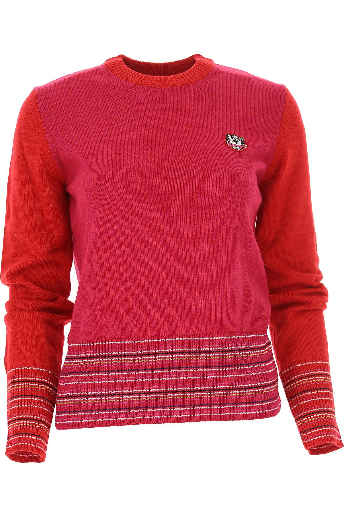 d9a32110 Kenzo Sweater For Women Jumper in Red - Lyst