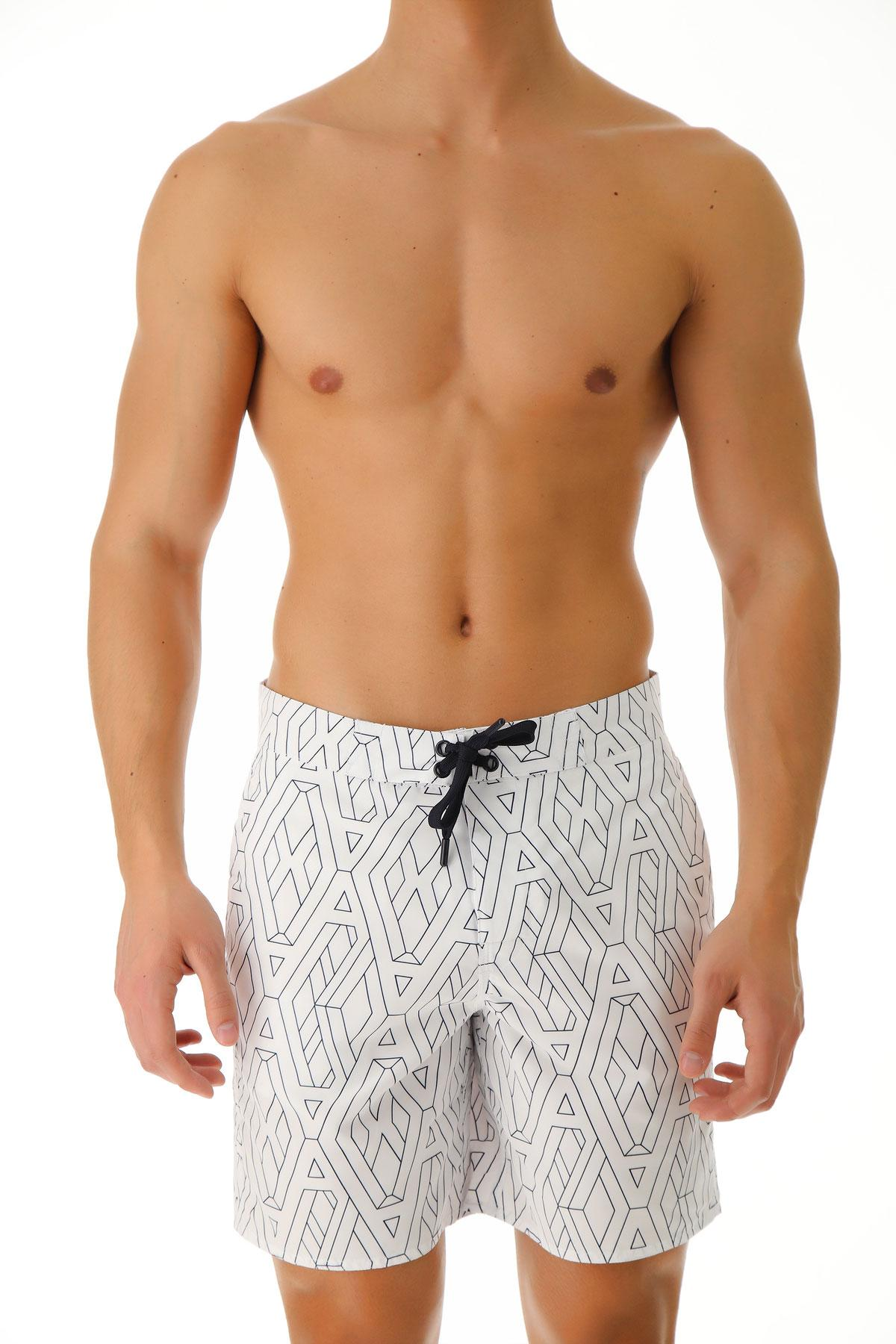 301708a1cd Lyst - Emporio Armani Swim Shorts Trunks For Men On Sale In Outlet ...