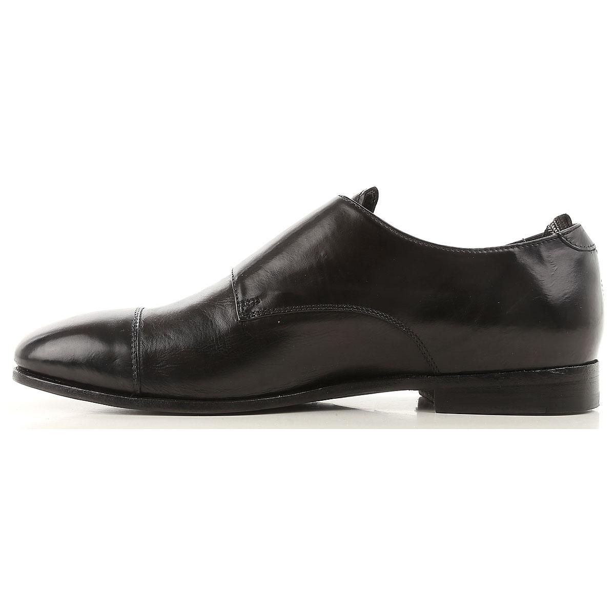1d9d2d19de Officine Creative - Black Zapatos Monkstrap de Hebilla para Hombre Baratos  en Rebajas Outlet for Men. Ver en pantalla completa