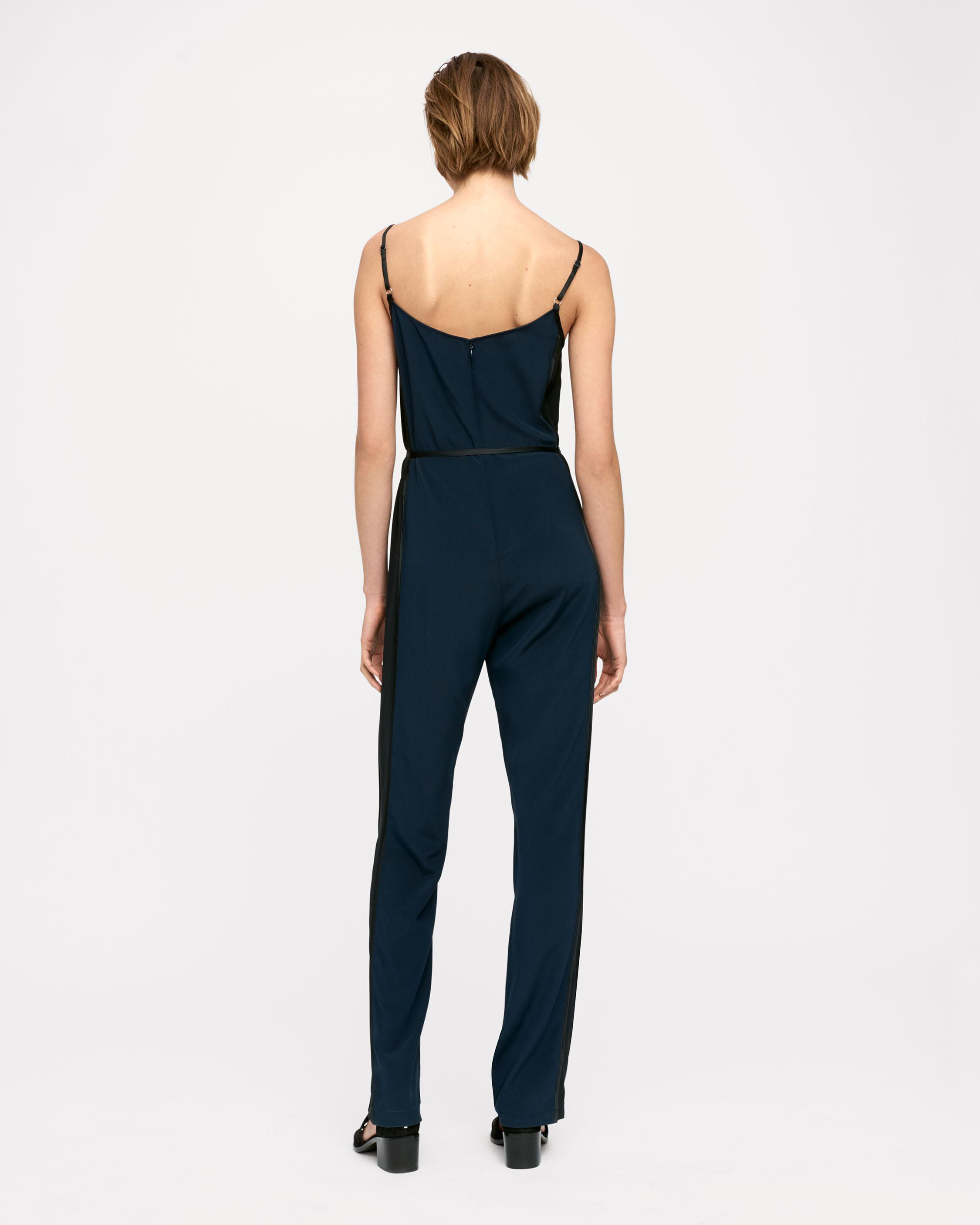 9b670cf0c579 Lyst - Rag   Bone Rosa Silky Jumpsuit in Blue