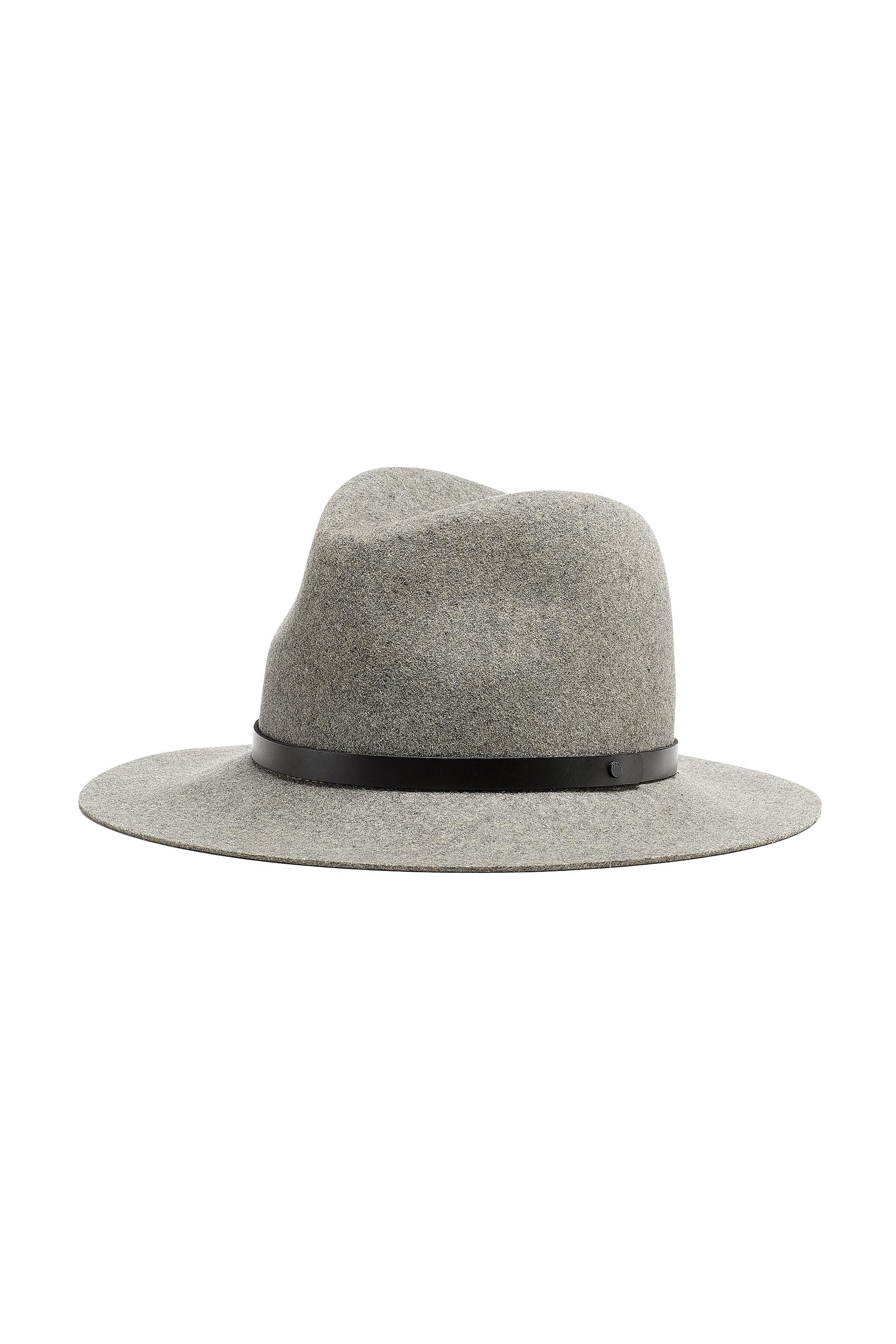 291cc86583411 Rag   Bone Floppy Brim Fedora in Gray - Lyst