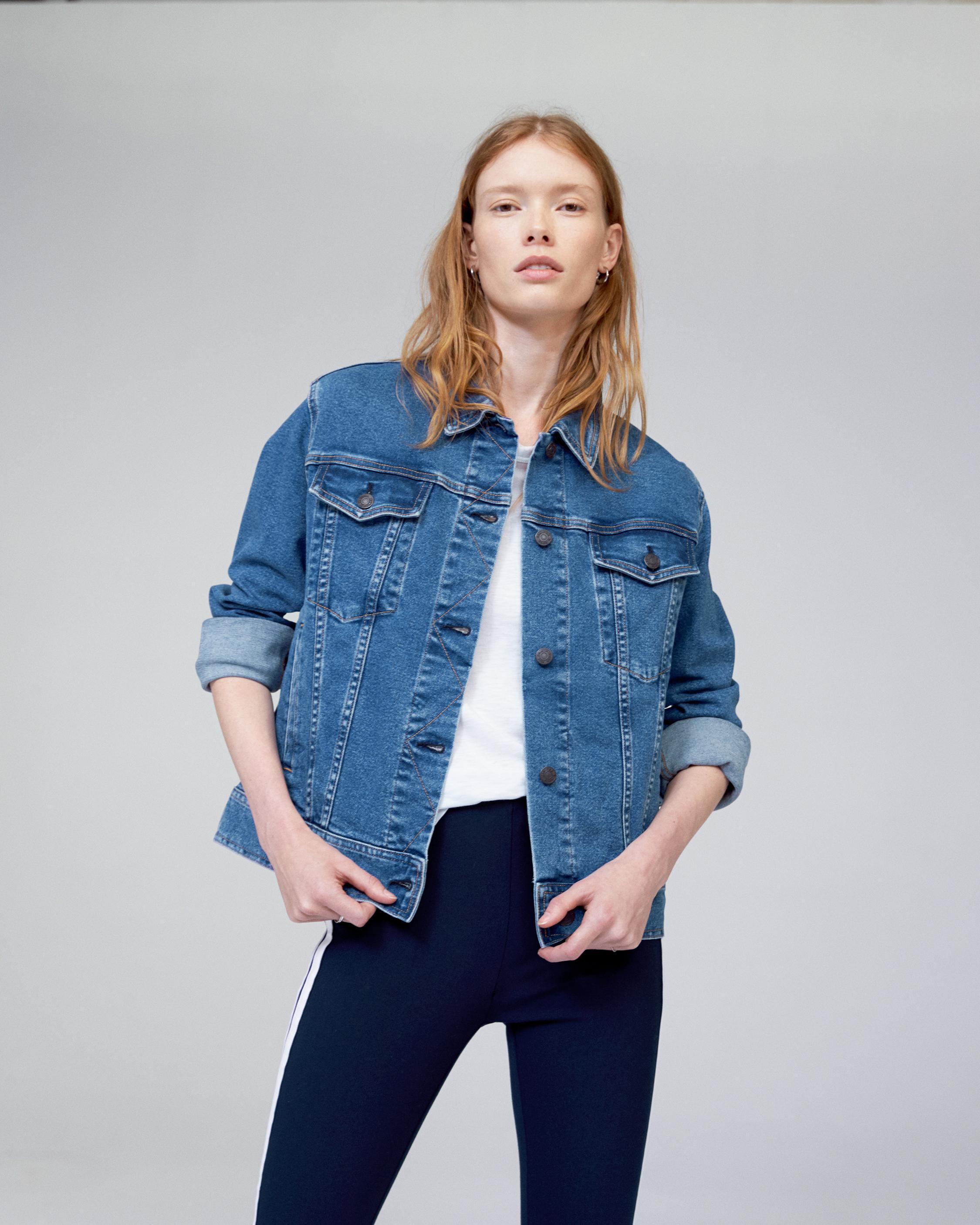 ca0ad83c3d92 Rag   Bone Oversized Jacket in Blue - Lyst
