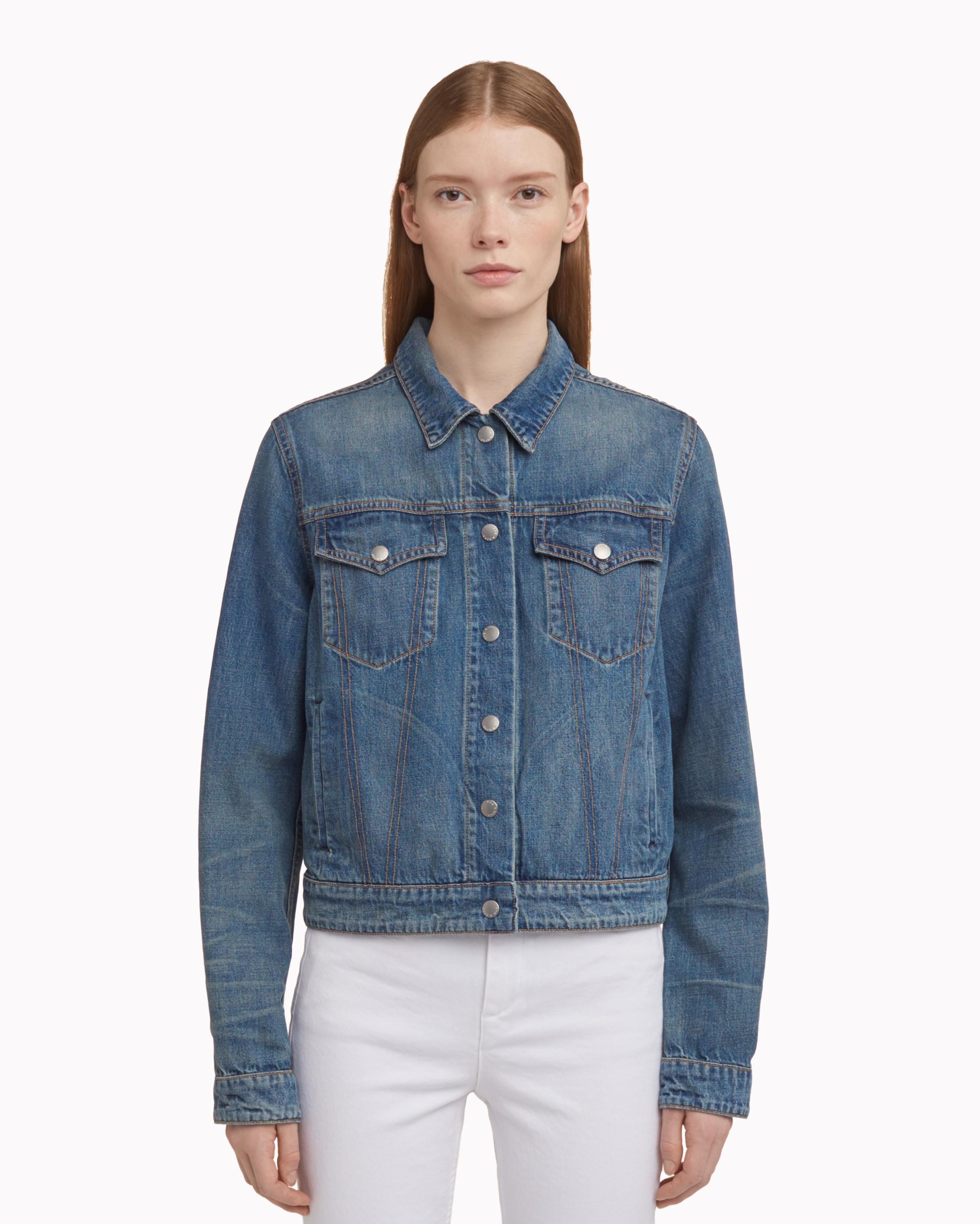5978b6018bb Rag   Bone Nico Jacket in Blue - Lyst