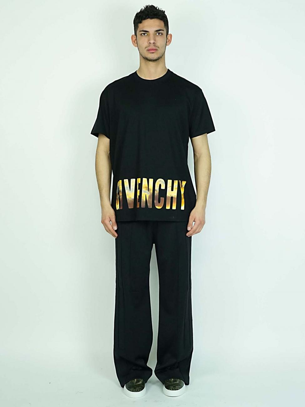 Givenchy Black T Shirt In Black For Men Lyst