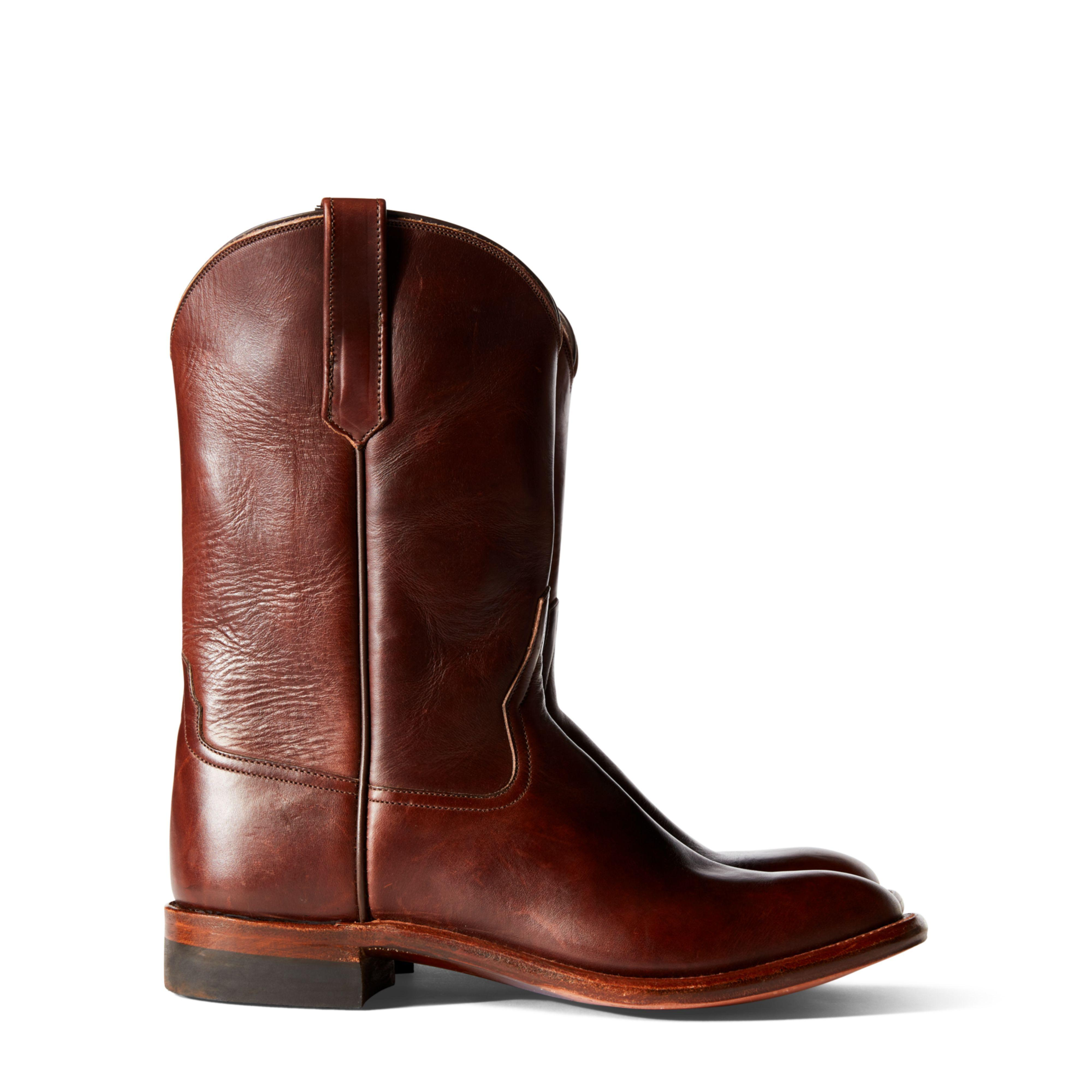 Lucchese Bootmaker Jonah Roper Ankle Boot(Men's) -Espresso Maracca Suede Calf Cheap Sale Prices YH3GFii