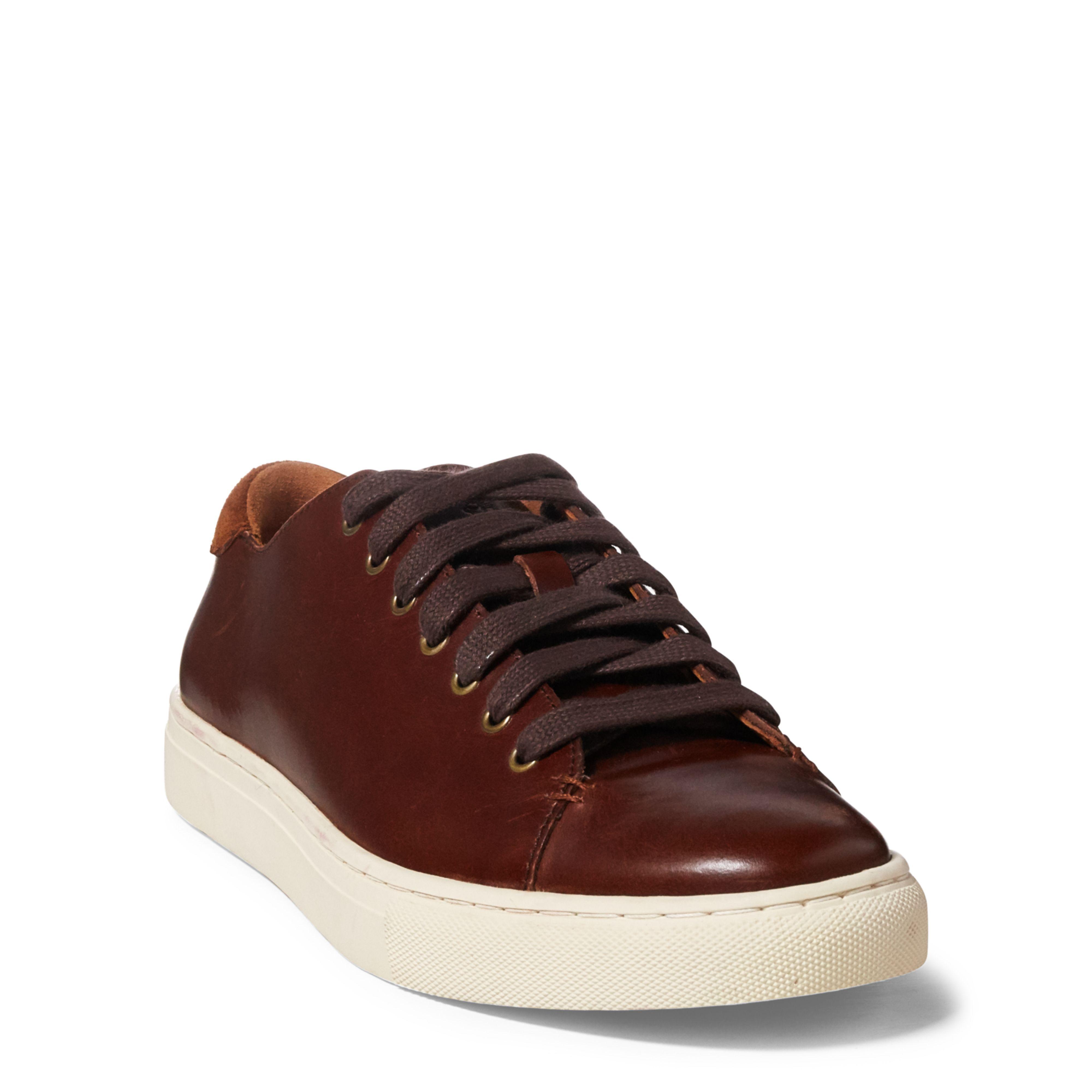 JERMAIN - Sneaker low - deep saddle tan iIPhCTdUh