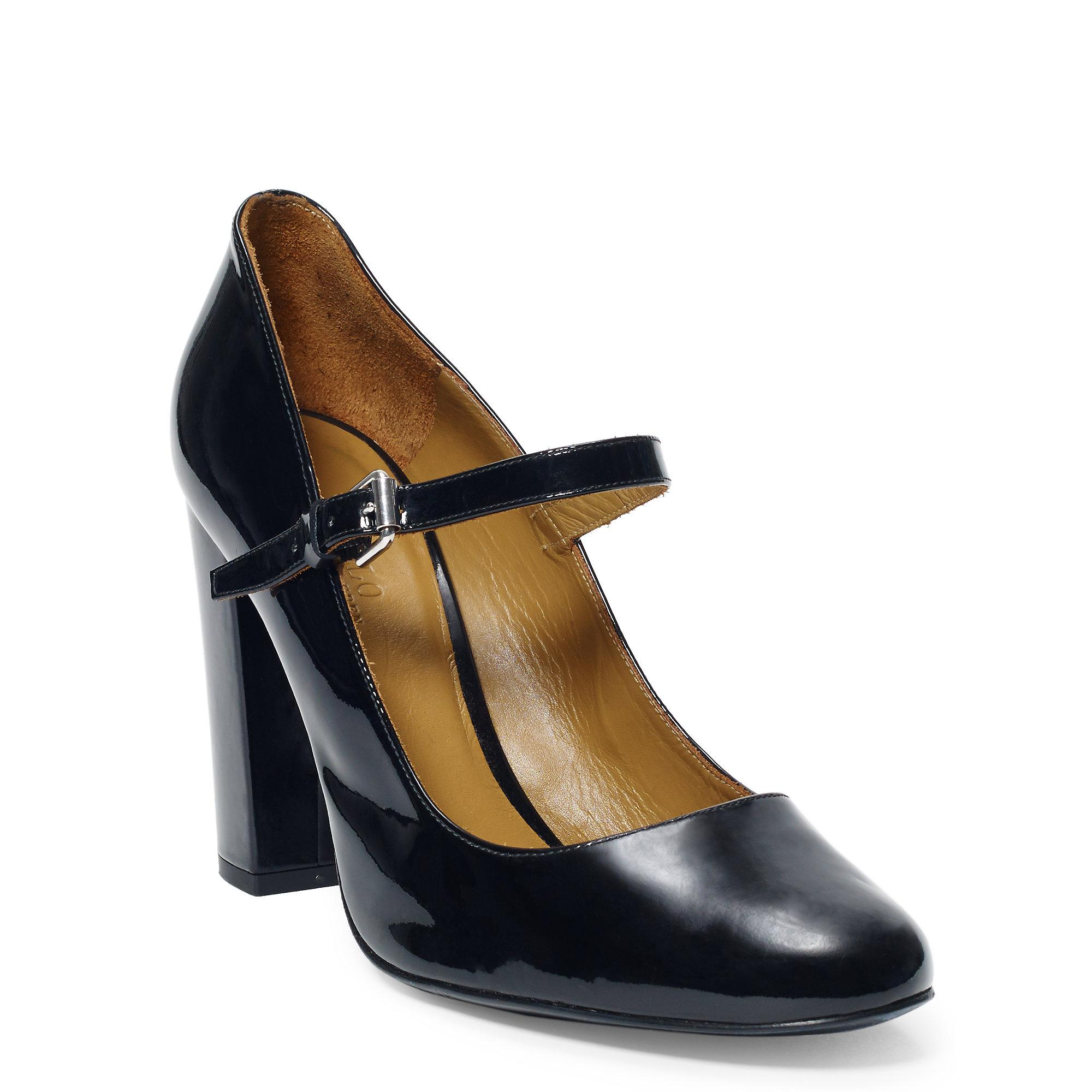 Polo Ralph Lauren Mary Jane Round-Toe Pumps cheap outlet discounts for sale zJO95J4oy