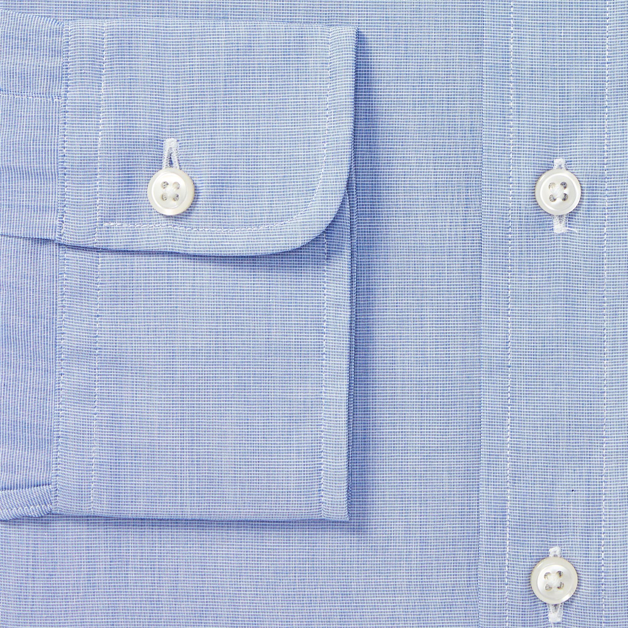 4033e9a4 Polo Ralph Lauren - Blue Slim Fit Poplin Shirt for Men - Lyst. View  fullscreen