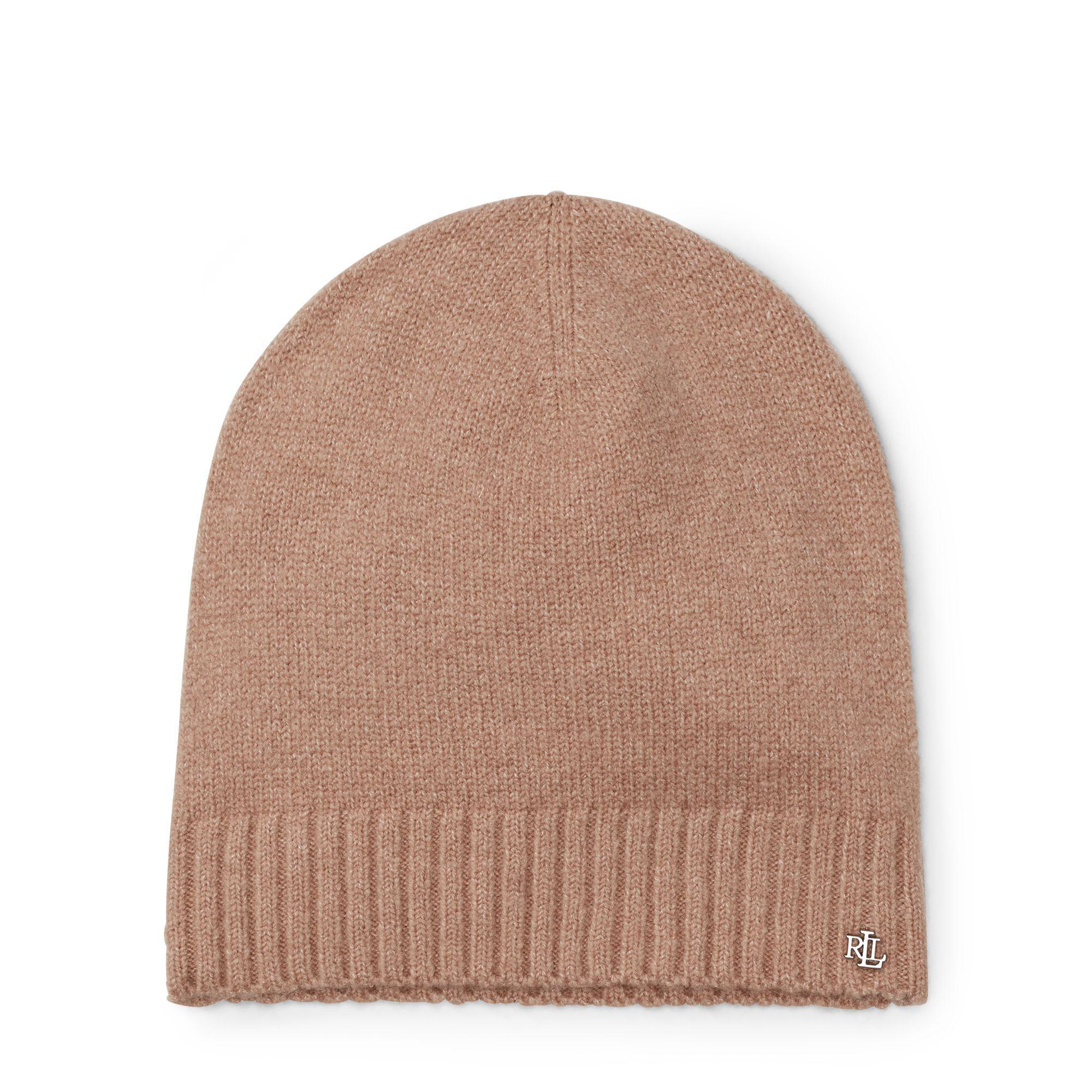2c3c19adca6376 Ralph Lauren Lrl Monogram Beanie Hat - Lyst