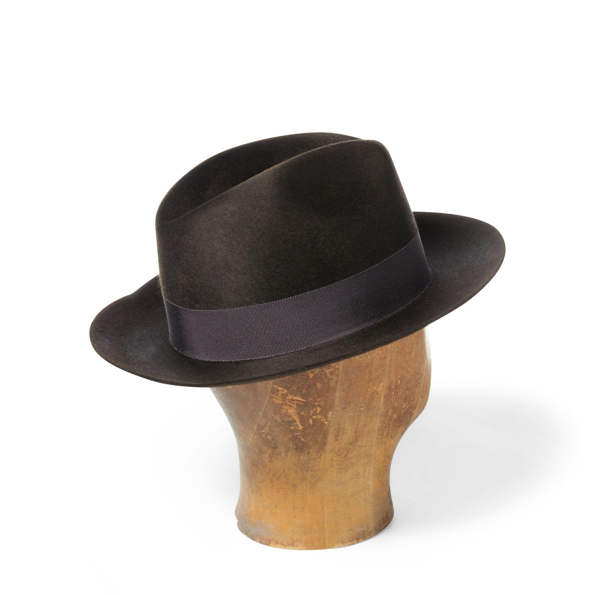 e54f2933c3a3b ... Wool Felt Fedora for Men - Lyst. View fullscreen