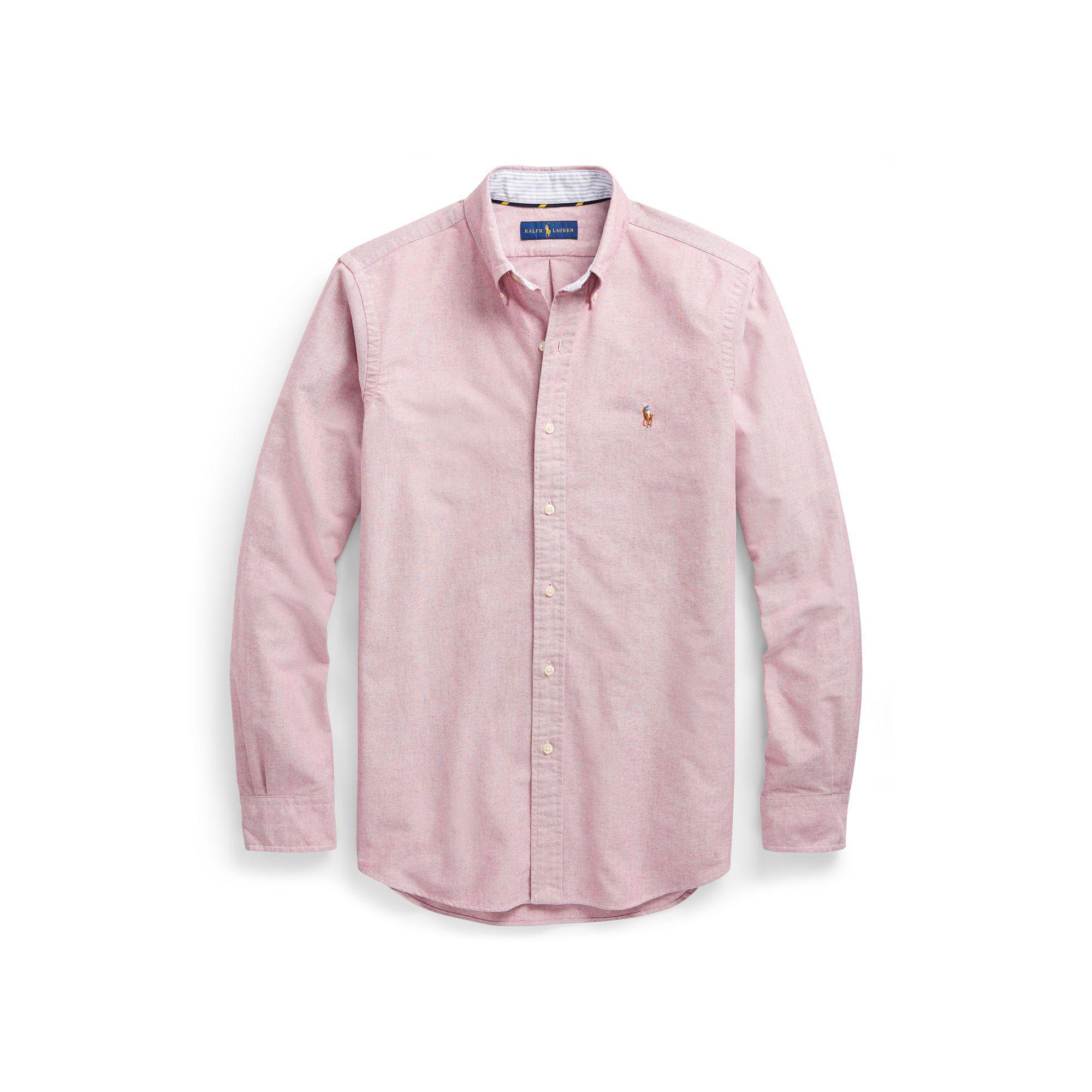 a82cd261f2d4bc Polo Ralph Lauren Classic Fit Oxford Shirt for Men - Lyst
