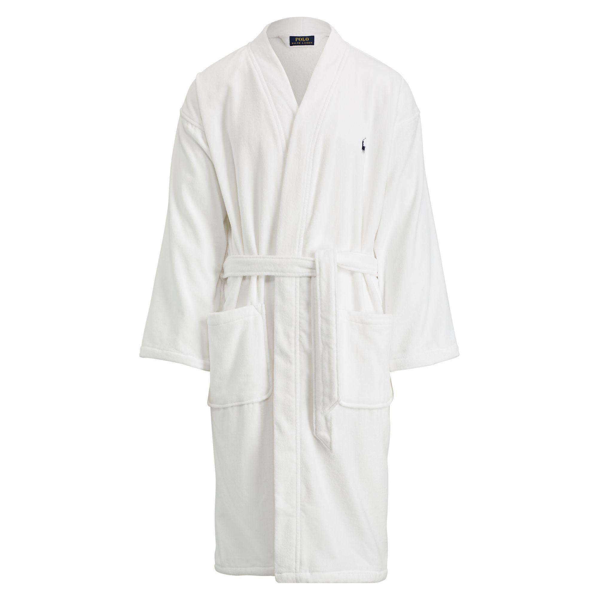 Lyst - Polo Ralph Lauren Shawl-collar Robe in White for Men c07ab6f8a9f