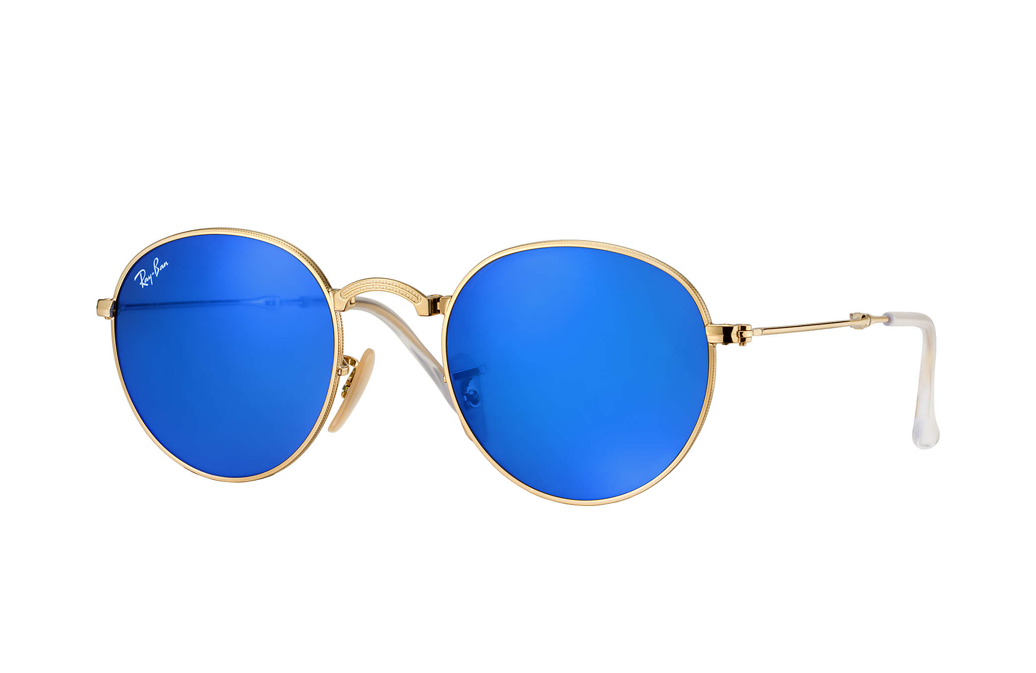 Rayban emblem louisiana bucket brigade for Ray ban verre bleu miroir