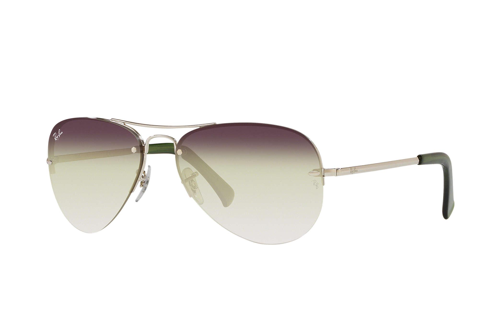2bcf47dfdc7 Lyst - Ray-Ban Rb3449 in Gray for Men