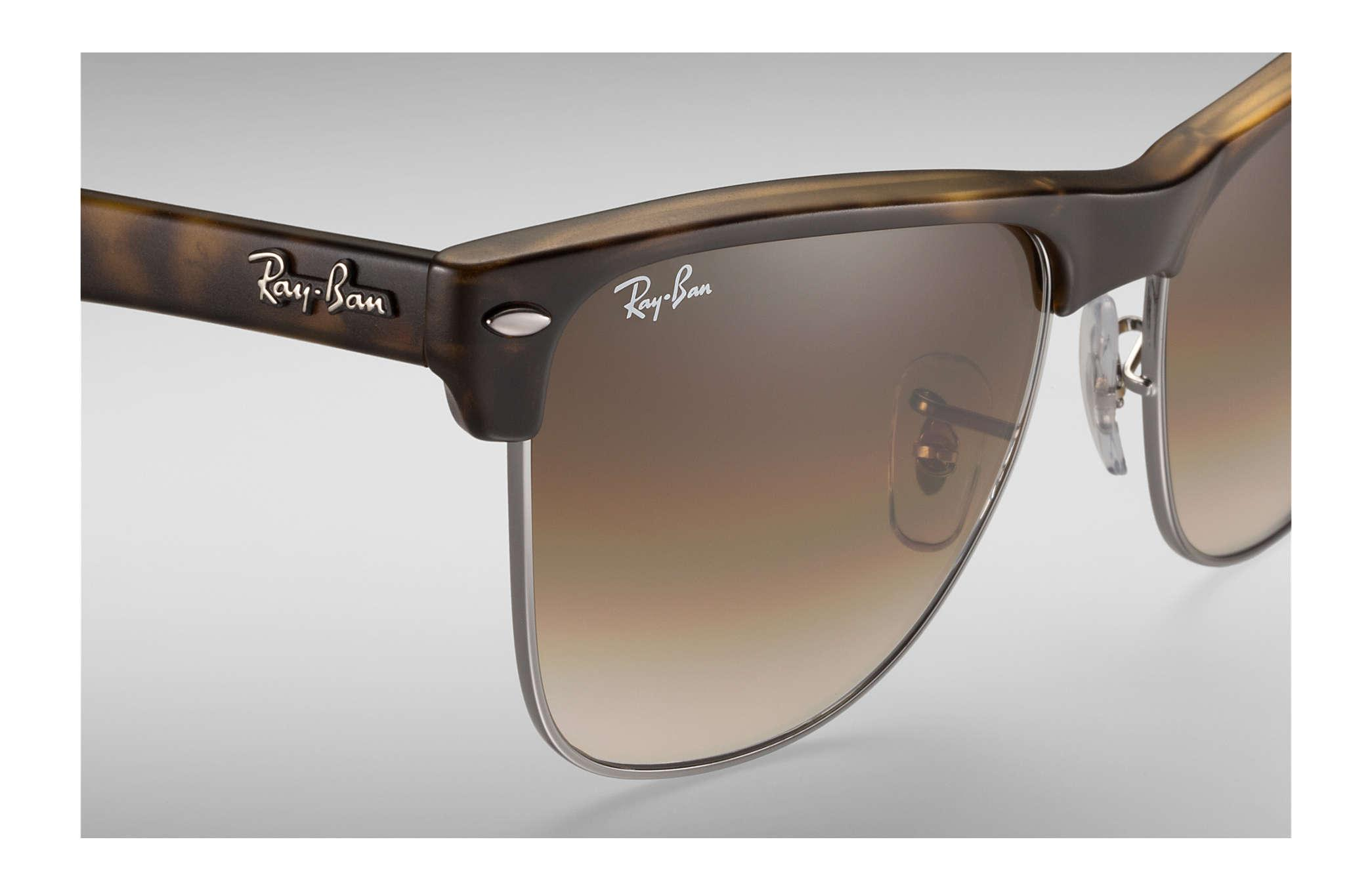 37e7b93530 Ray-Ban - Brown Clubmaster Oversized - Lyst. View fullscreen