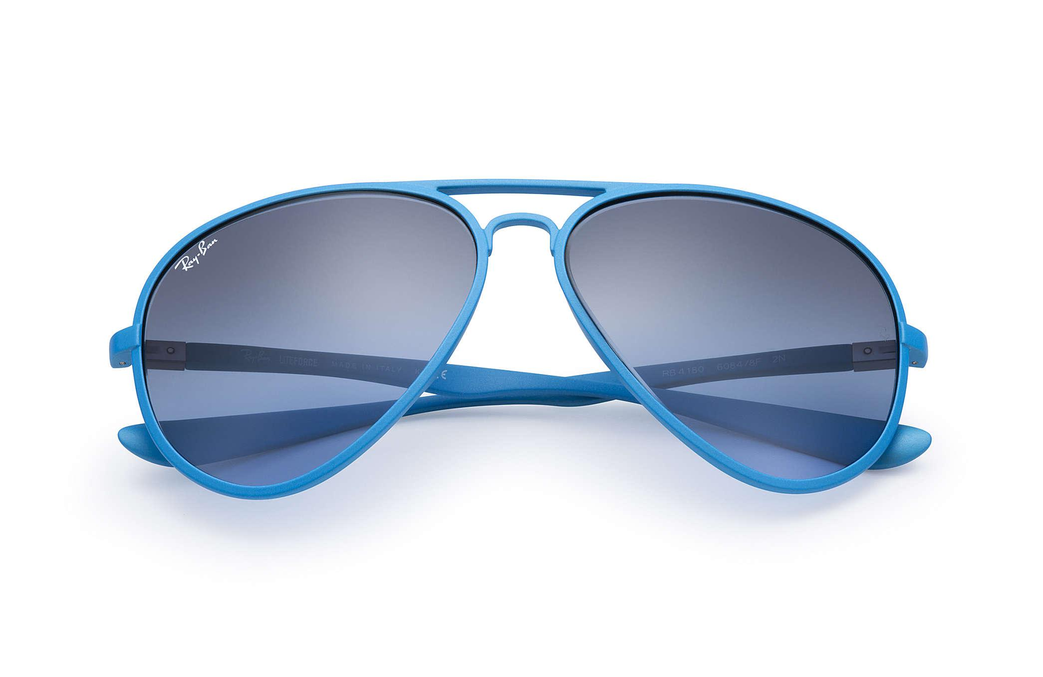 ray ban liteforce aviator blue