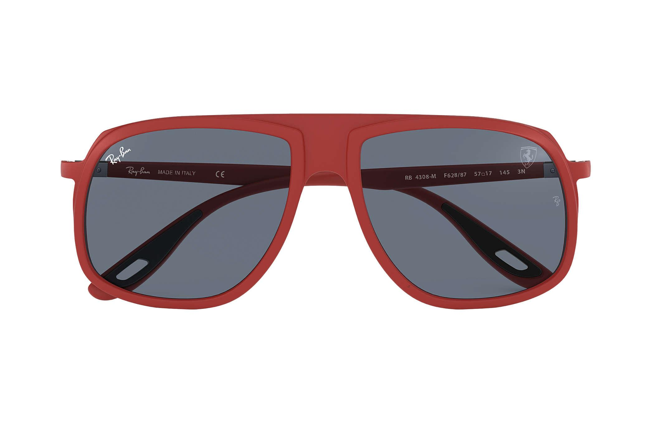 300dfc5dd2 Ray-Ban - Blue Scuderia Ferrari Collection Rb4308m Red for Men - Lyst. View  fullscreen