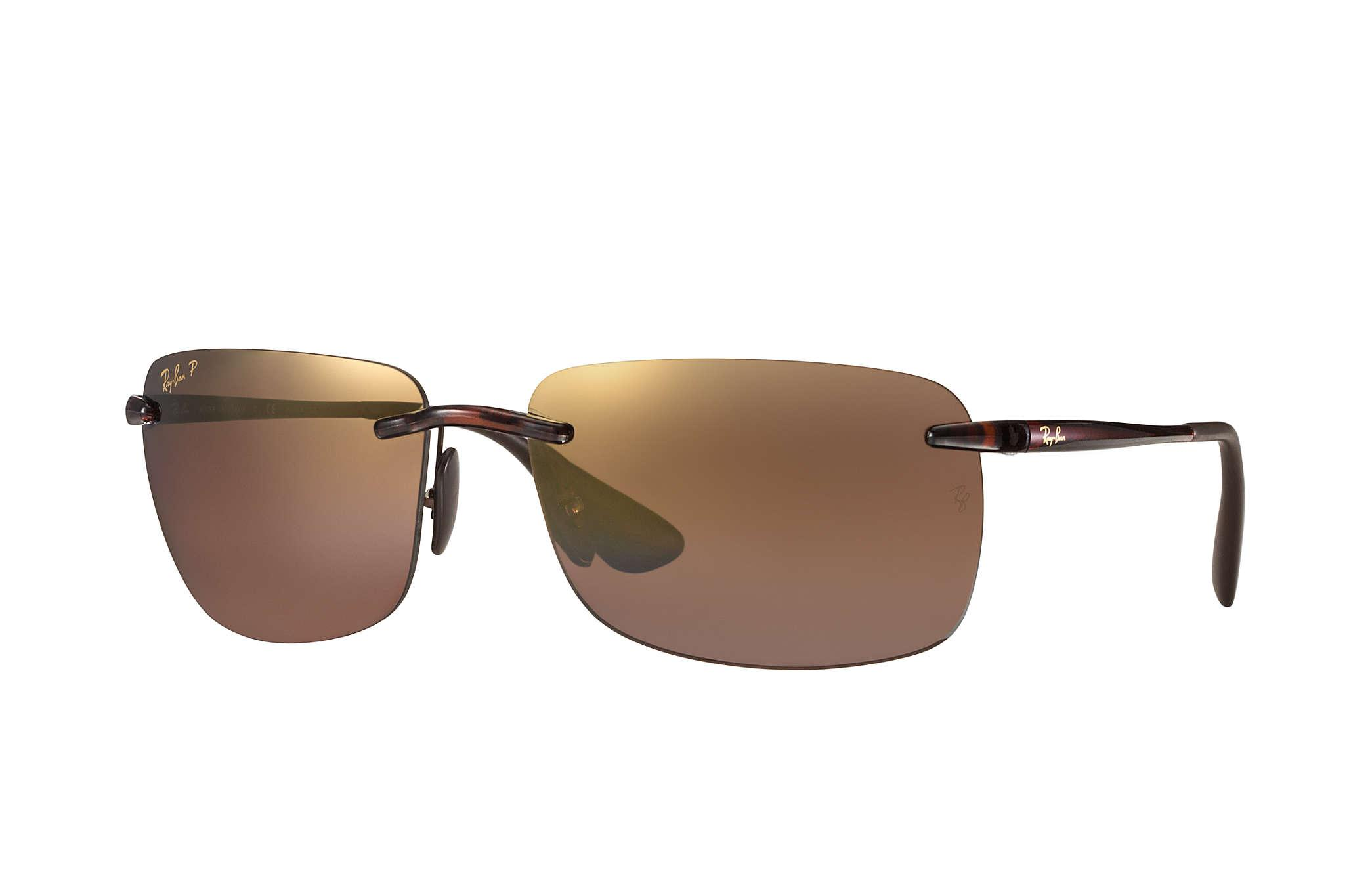 38013c496e Lyst - Ray-Ban Rb4255 Chromance in Brown for Men