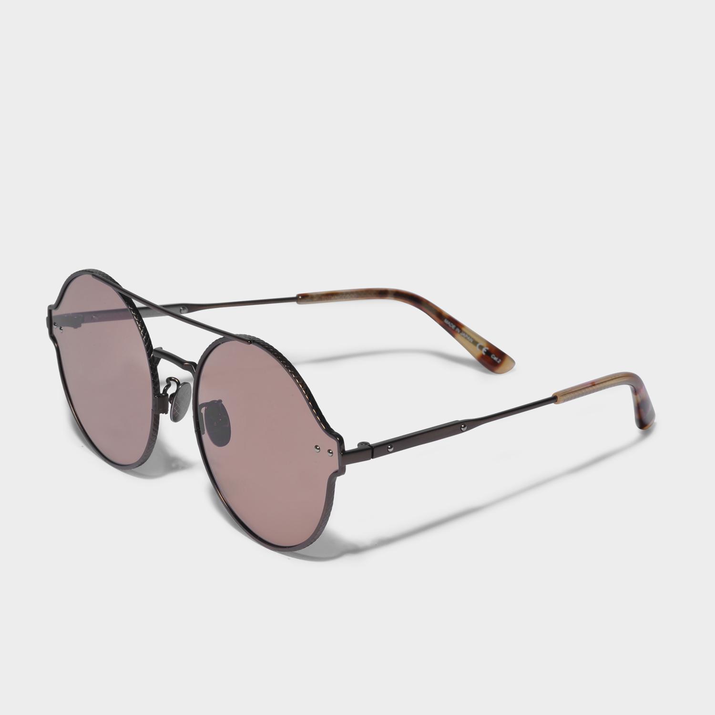 Sunglasses with Antireflective Lenses in Bronze Metal Bottega Veneta kKbQB